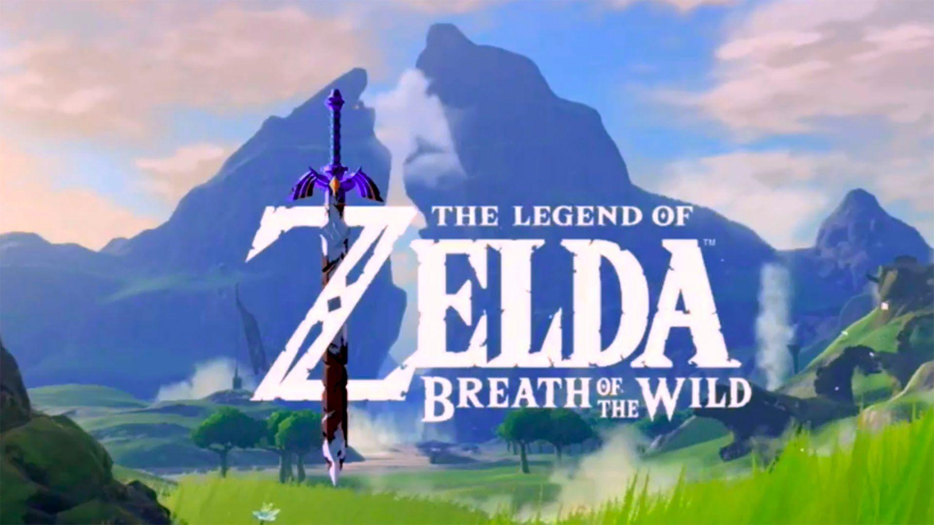 E3 2016 The Legend Of Zelda Breath Of The Wild Gameplay E3 2016