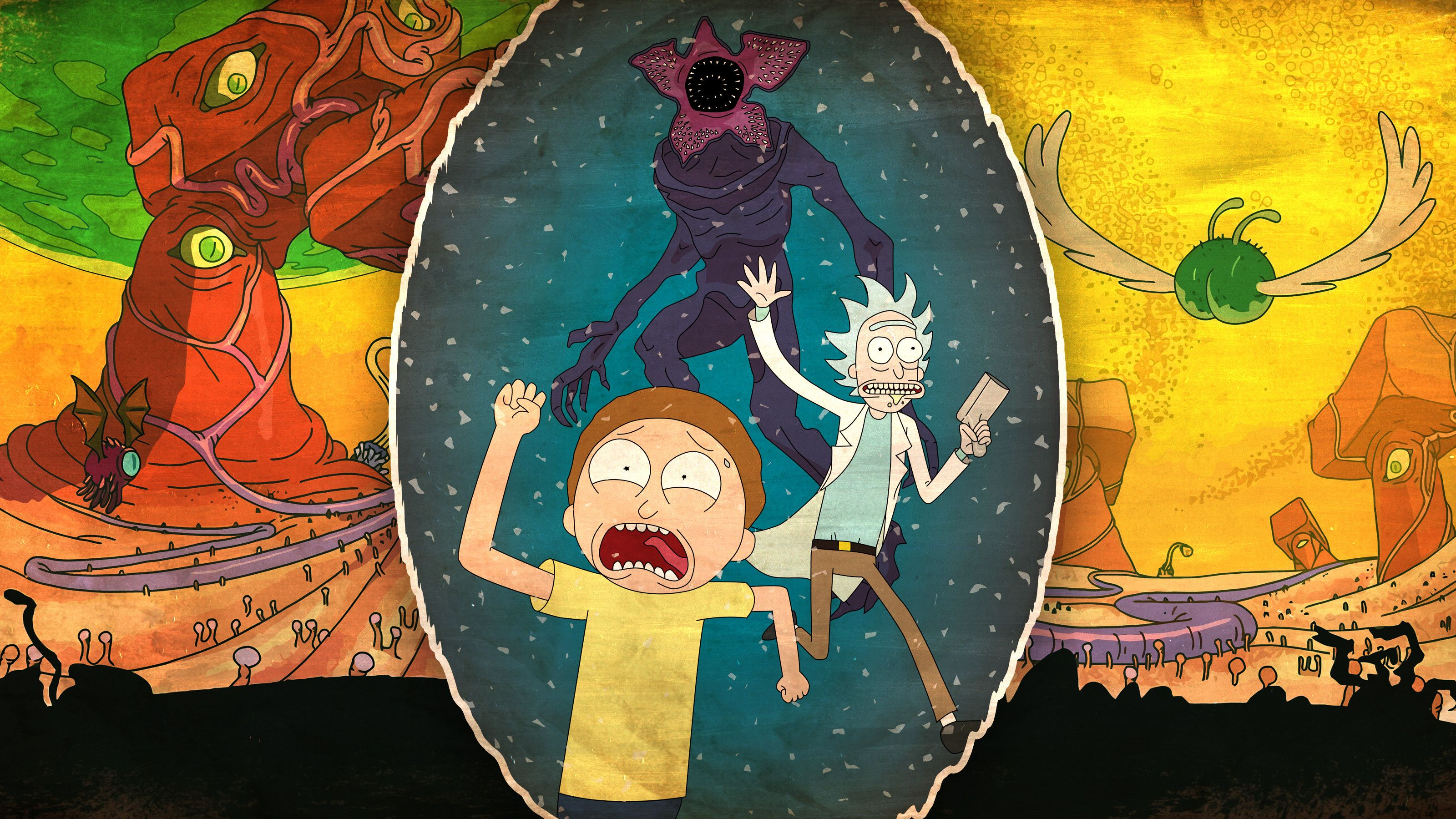 Rick And Morty 4k, HD Cartoons, 4k Wallpapers, Images, Backgrounds .