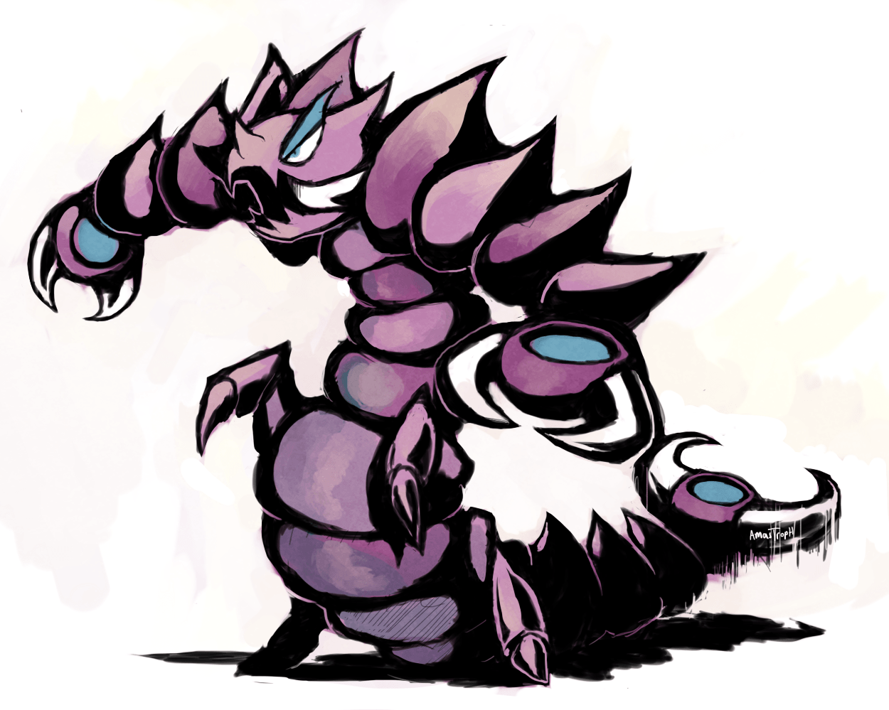 Pokedex XY challenge: Drapion by Amastroph on DeviantArt | Every ...