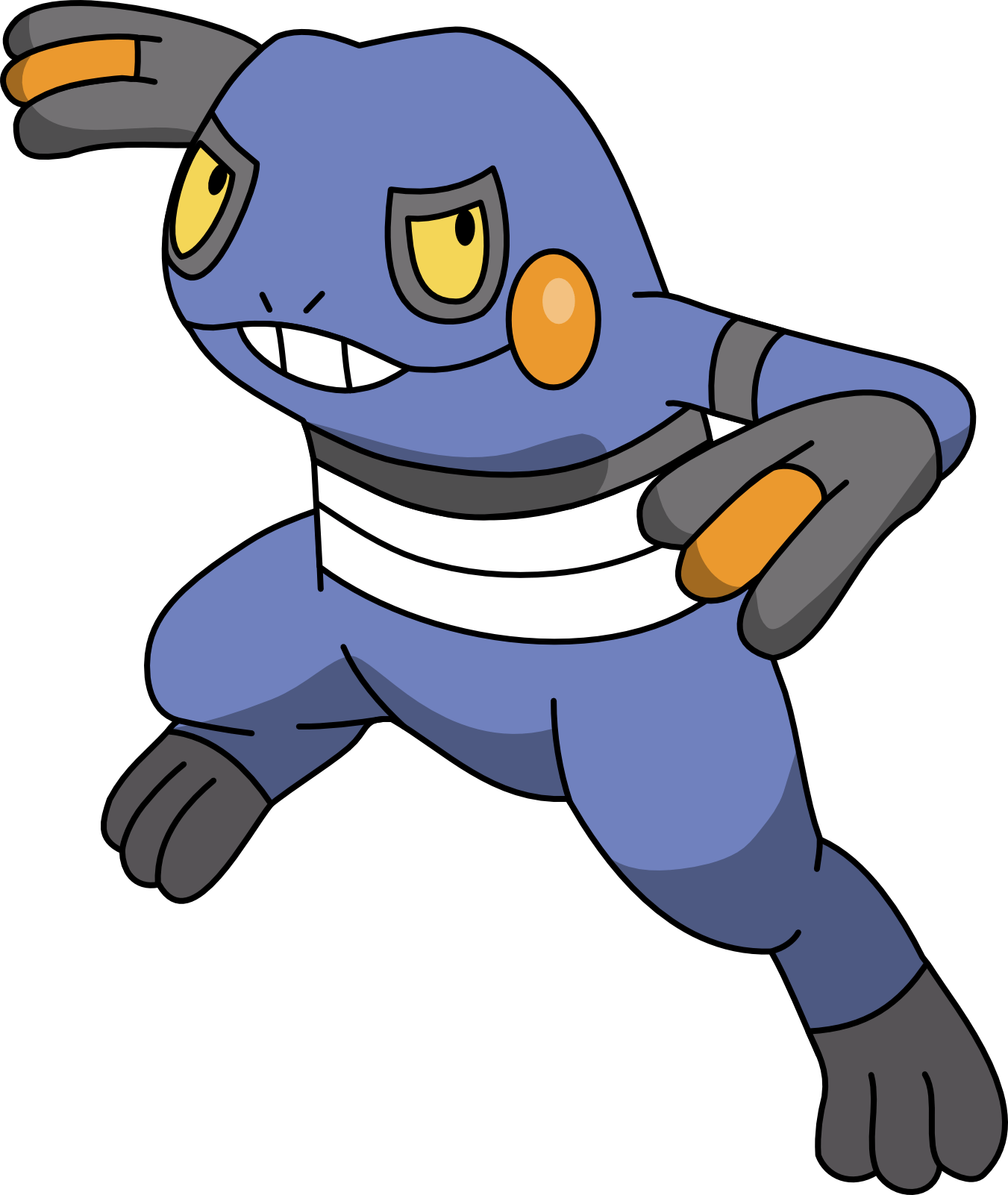 Croagunk by Mighty355