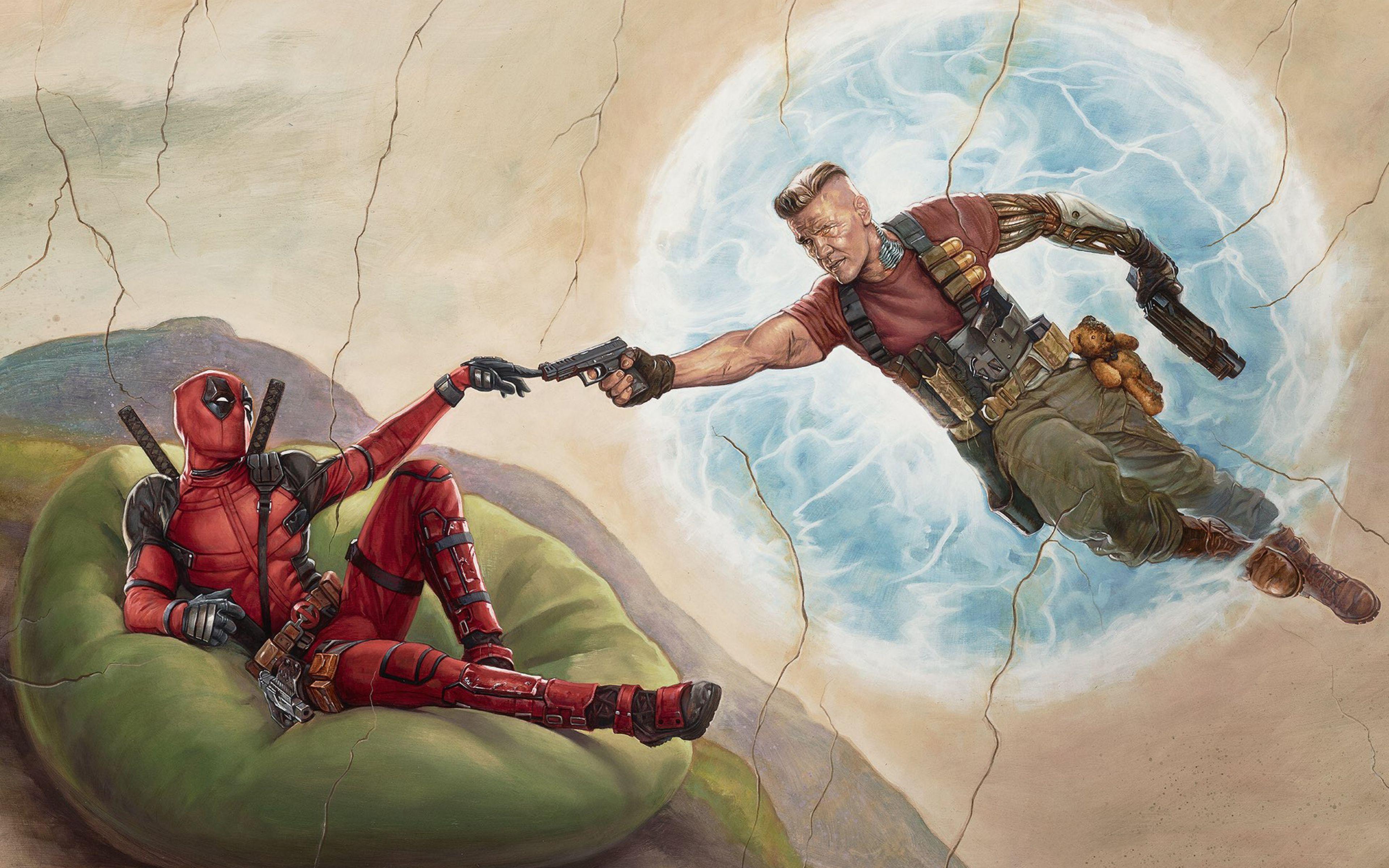 Deadpool 2 4K Wallpapers - Wallpaper Cave