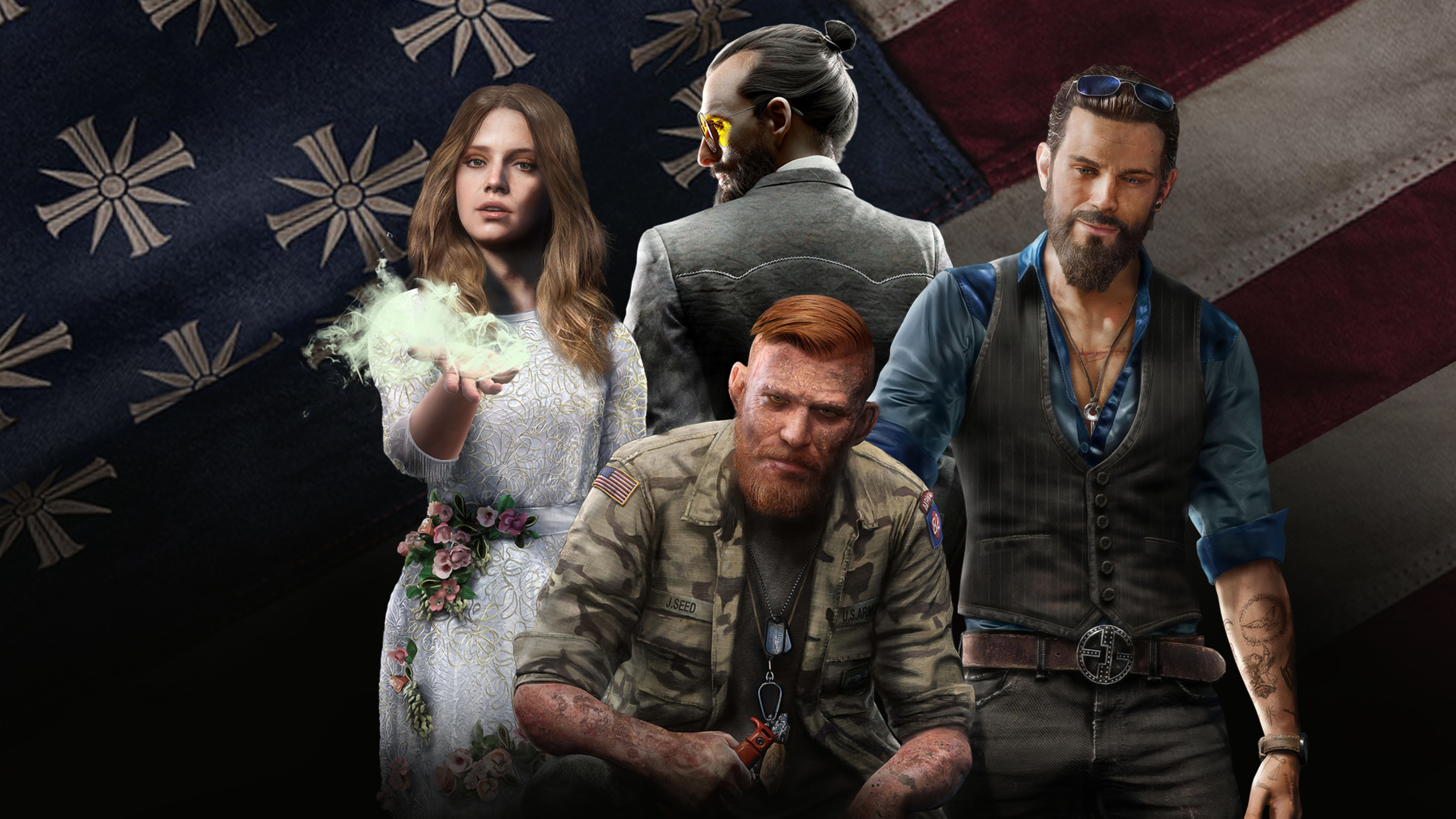 Far Cry 5 4k Wallpapers Wallpaper Cave