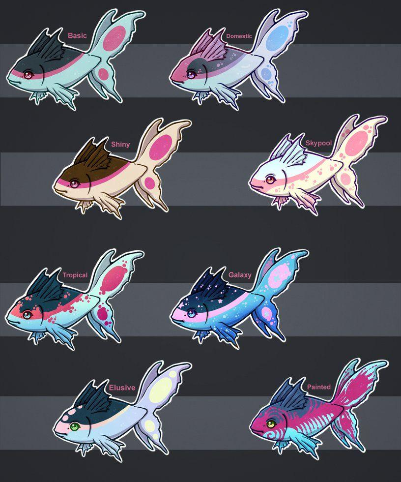 Finneon variants (Free raffle- CLOSED!) by DandyDuo on DeviantArt