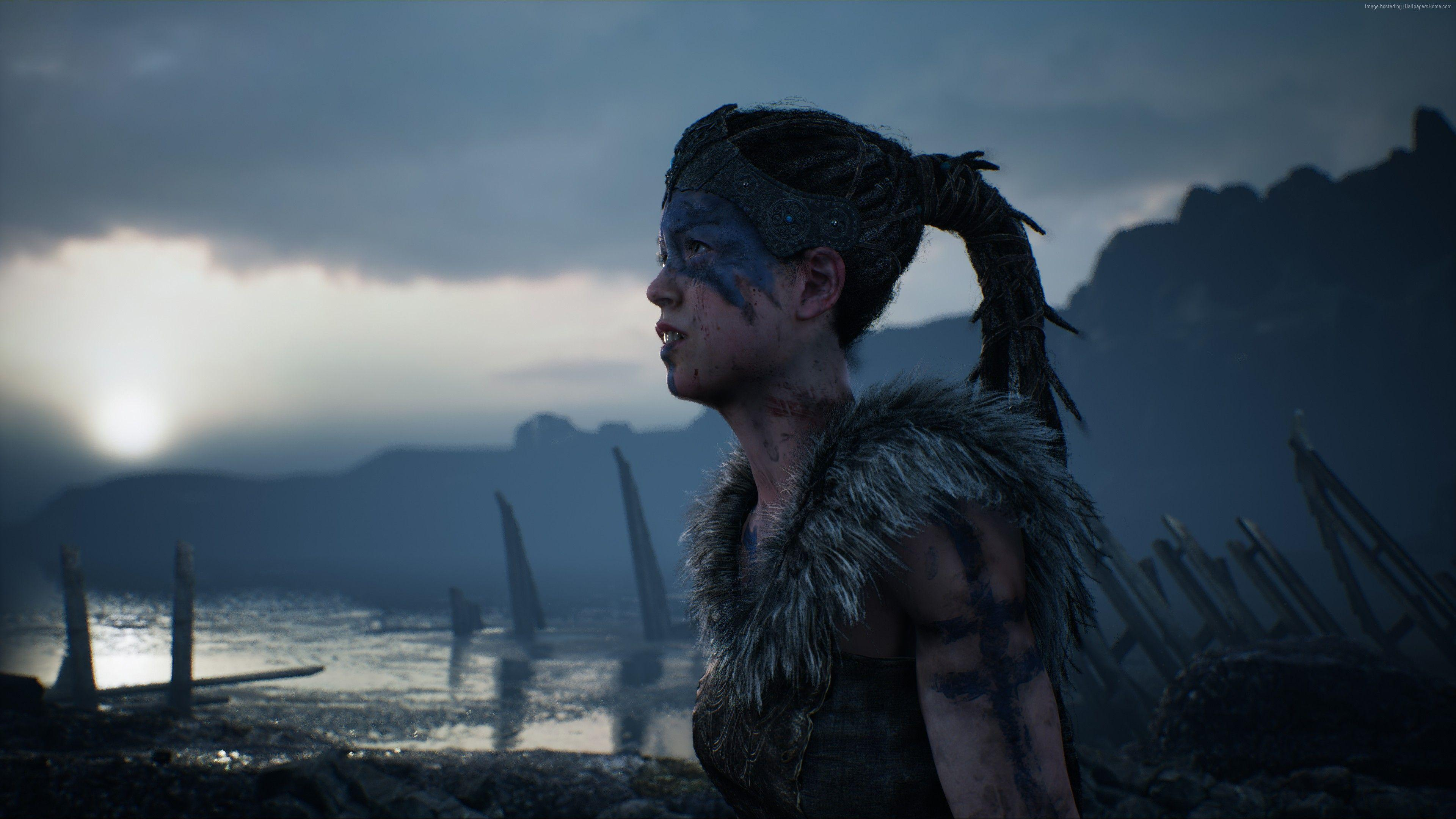 Wallpapers Hellblade: Senua's Sacrifice, Best games, fantasy, PC, PS4