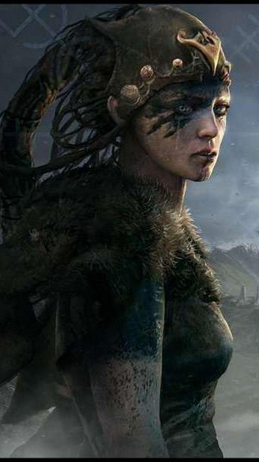 Hellblade Senua's Sacrifice Wallpapers For iPhone X