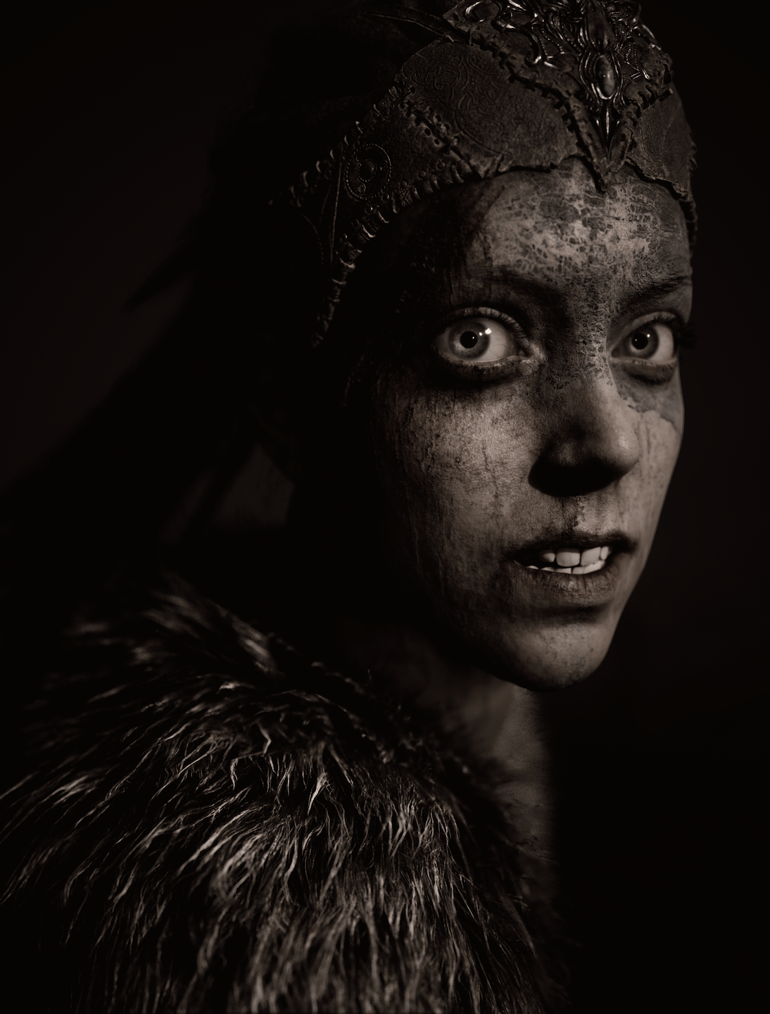 Check out these super detailed screens from Hellblade: Senua's