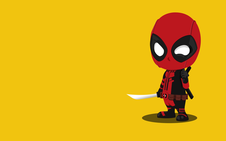 Deadpool Cartoon Wallpapers - Wallpaper Cave