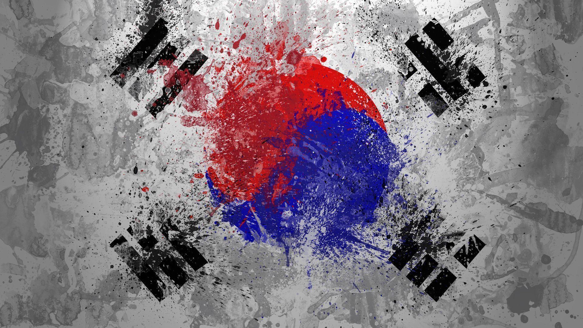 Korea Flag Wallpapers Wallpaper Cave