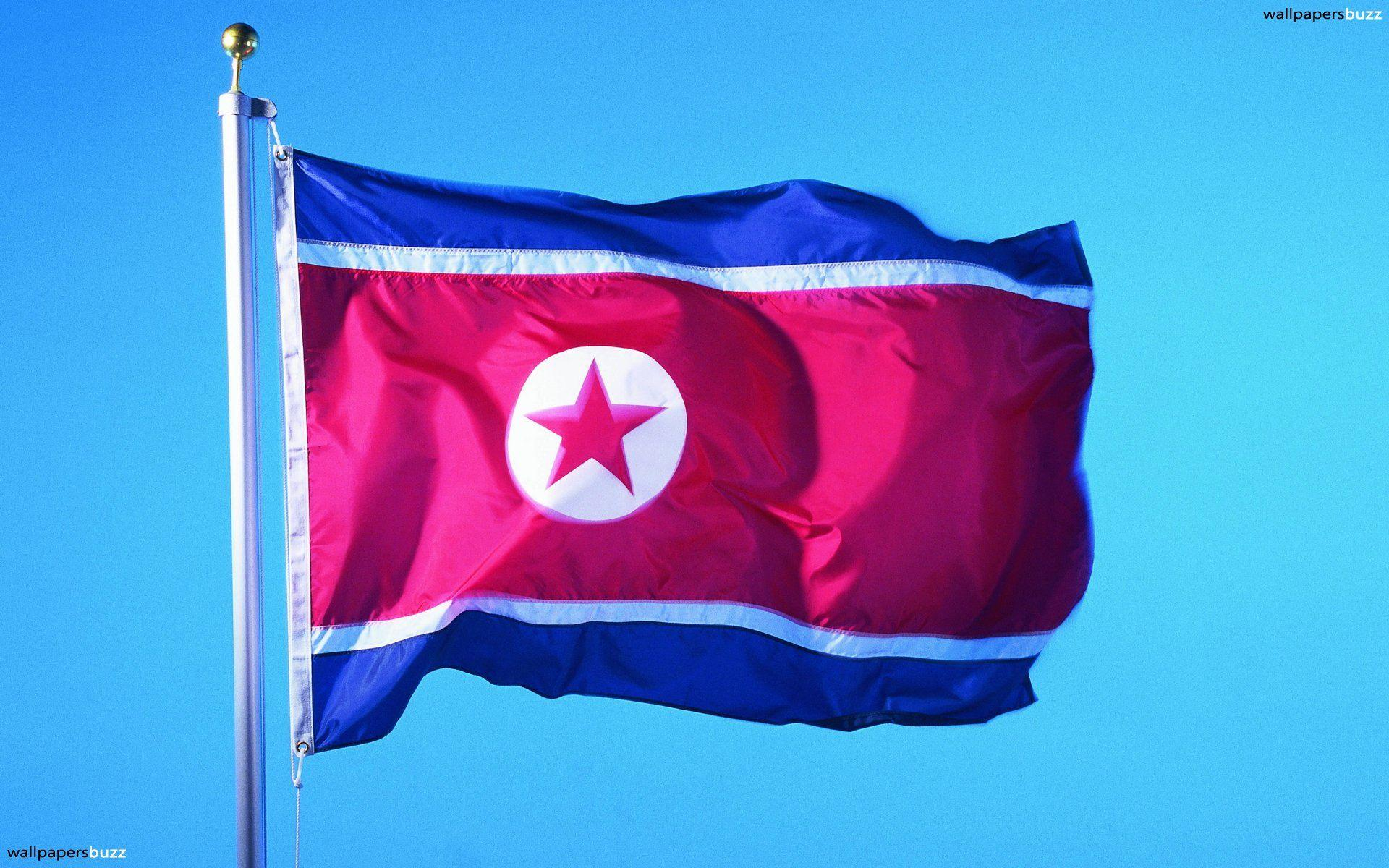 The flag of North Korea HD Wallpapers