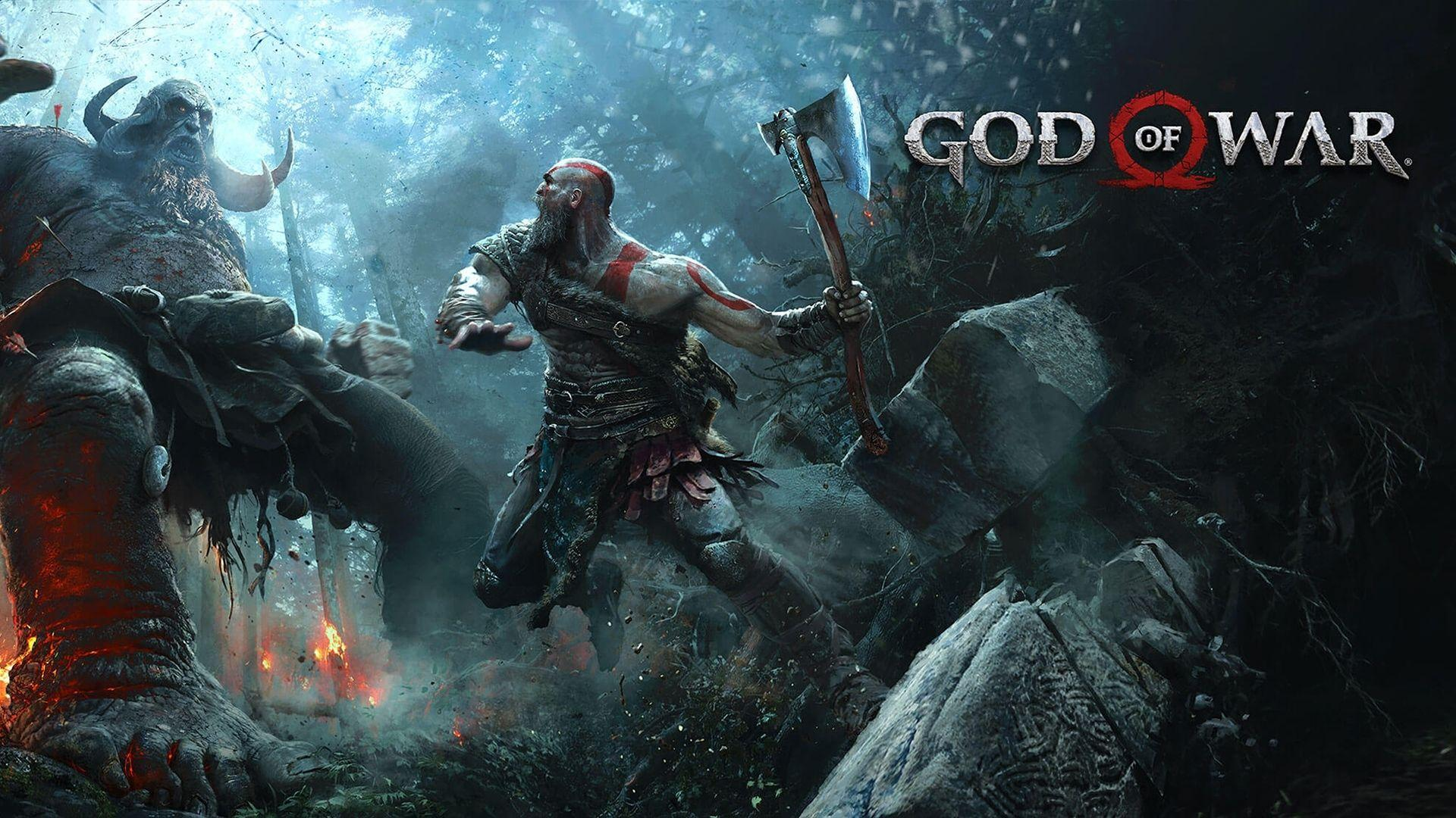 God Of War 4 Artwork 4k Hd Wallpaper 1400x1050