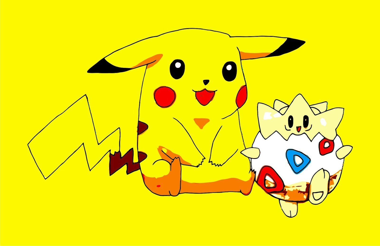 Togepi And Pikachu