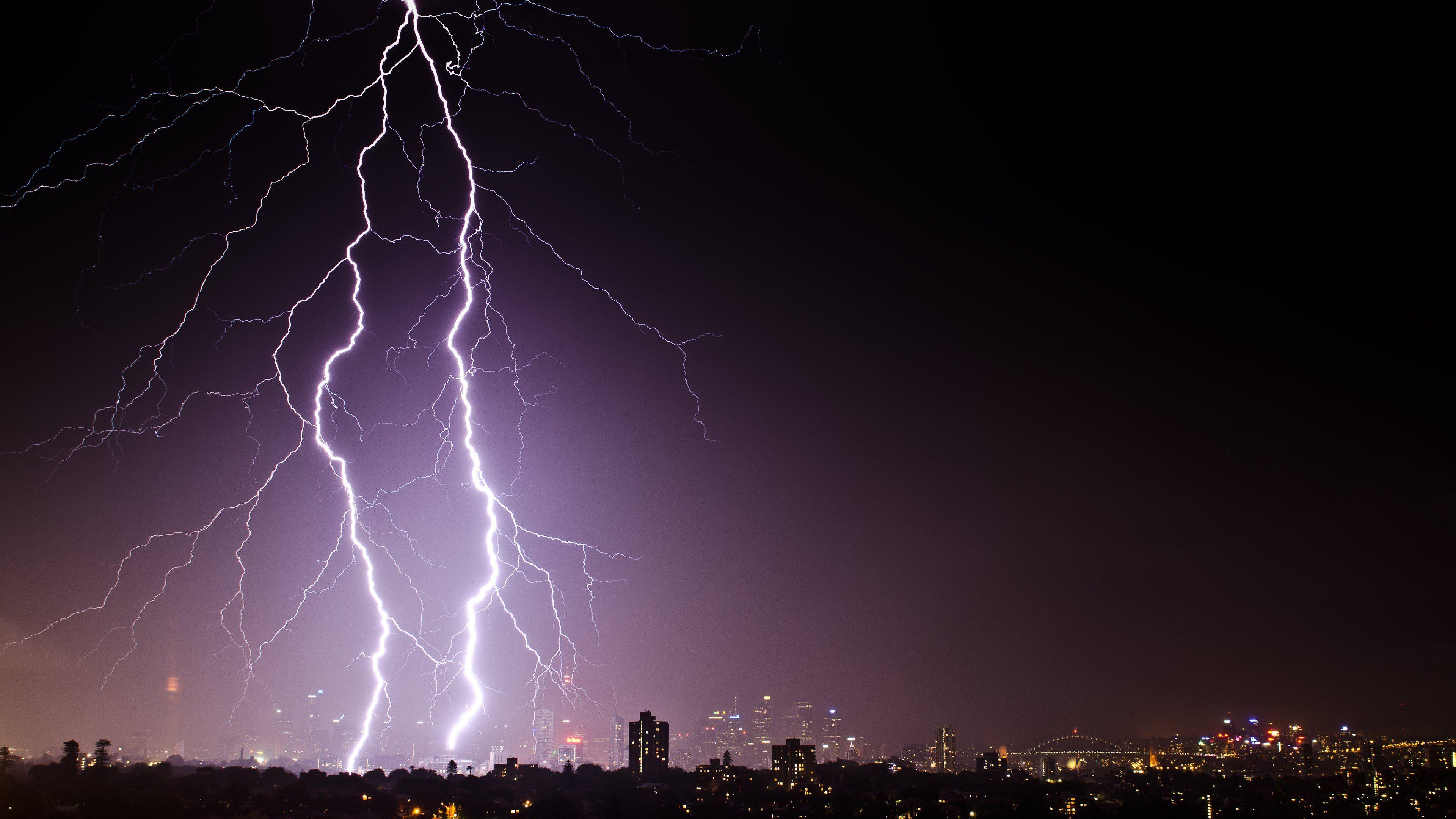 Lightning and Thunder in Sydney Wallpapers :: HD Wallpapers