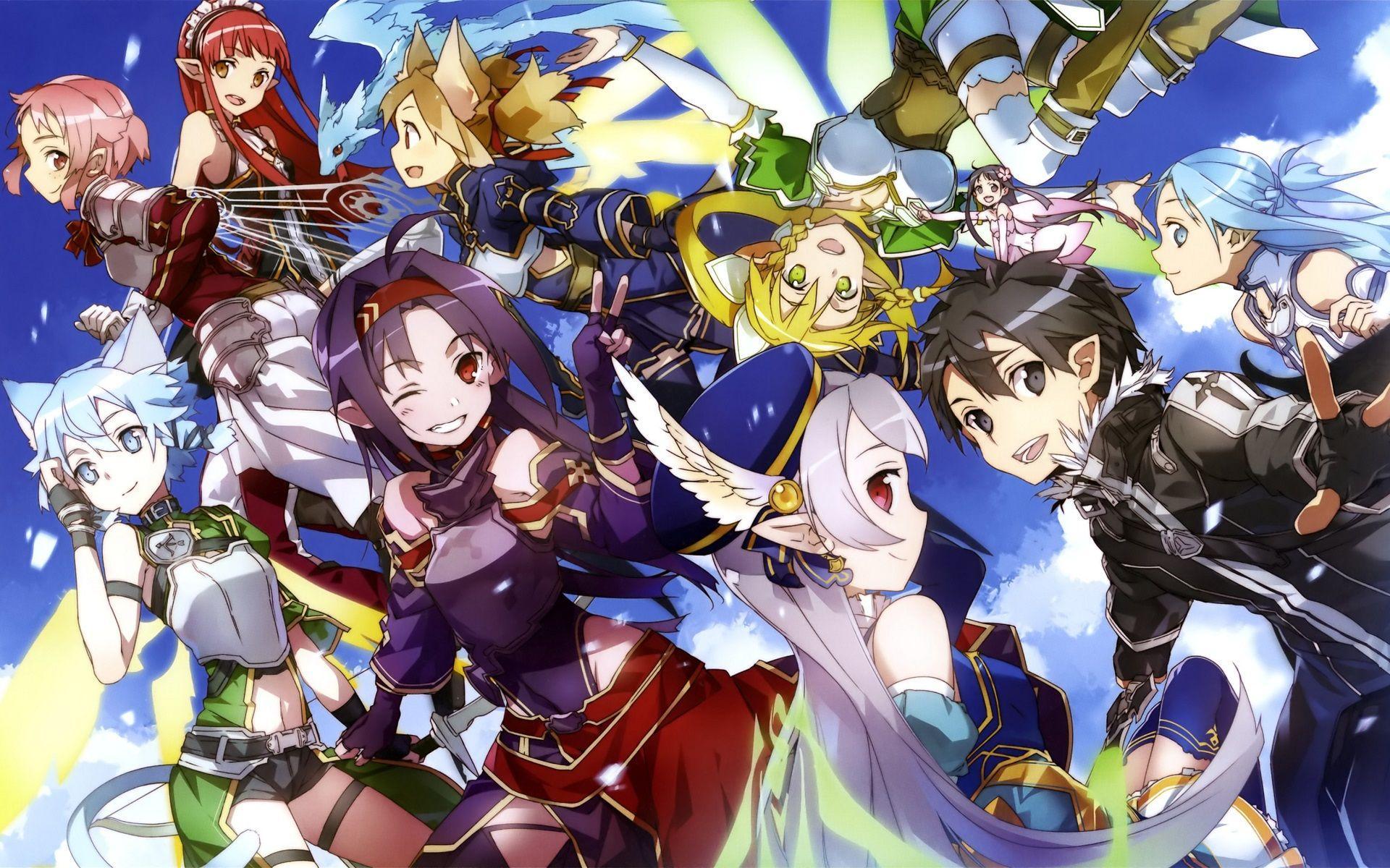 Sword Art Online PS3 Backgrounds - Wallpaper Cave
