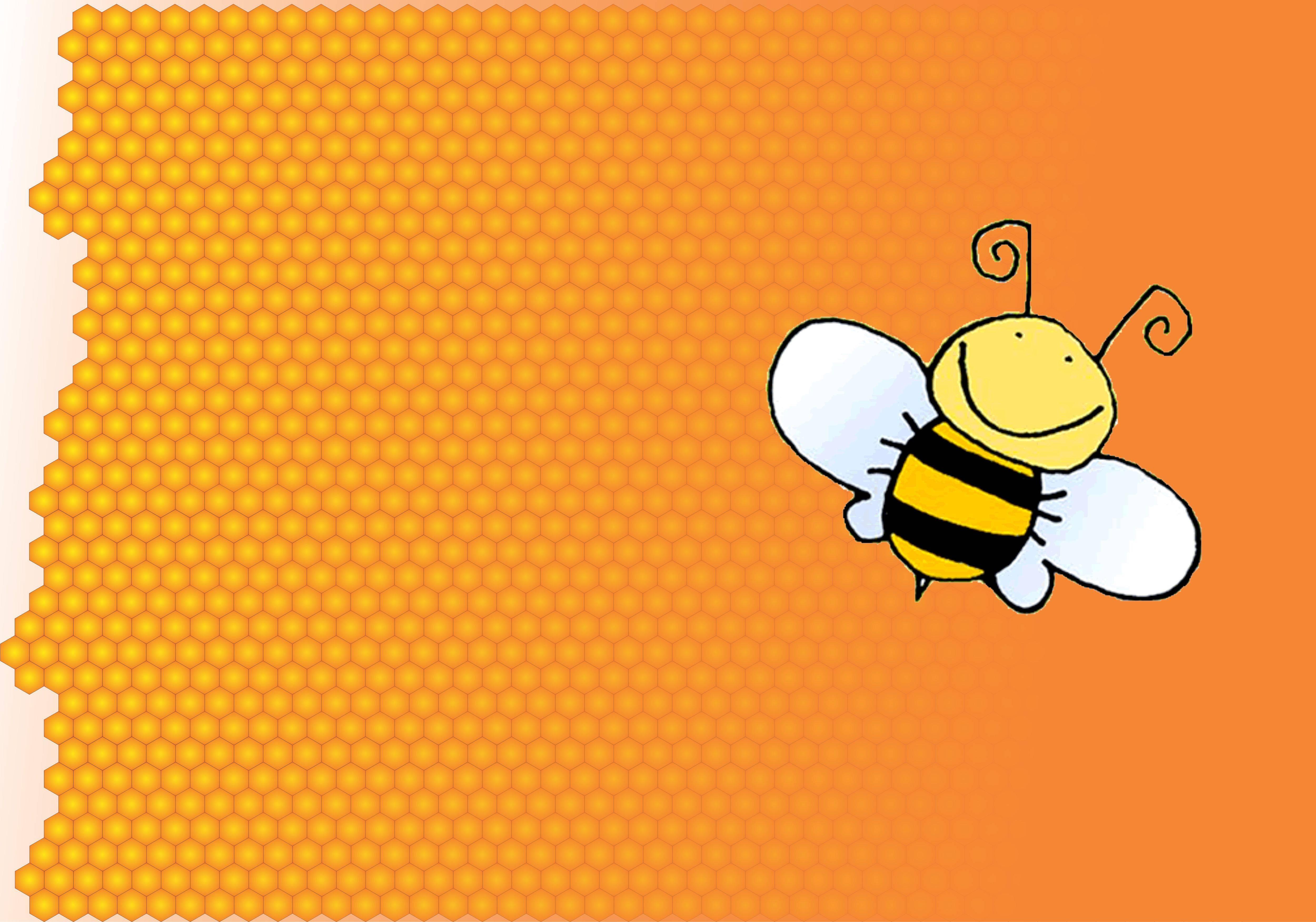 Bee Cartoon Wallpapers Wallpaper Cave