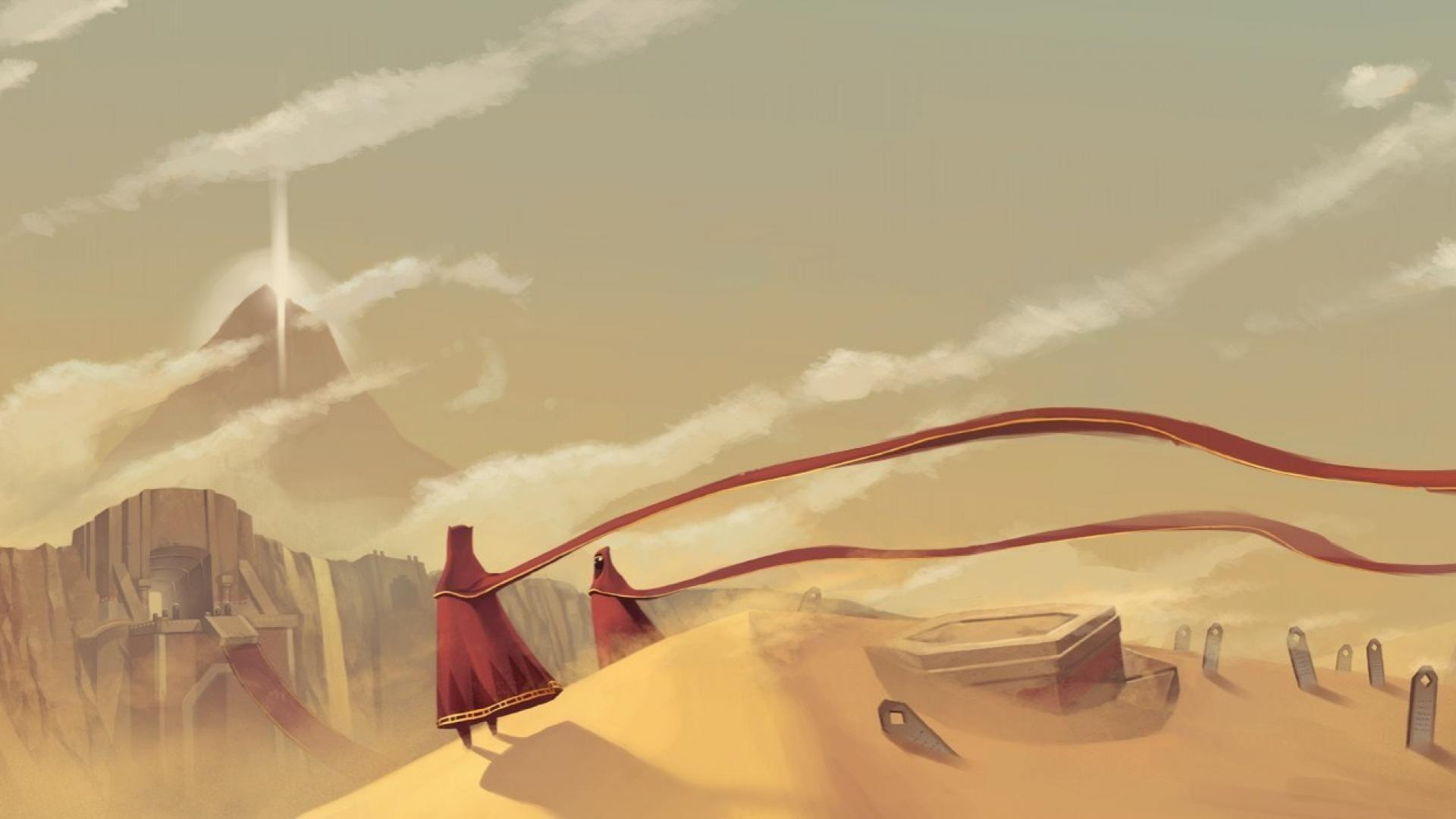 Video games desert sony journey playstation 3 wallpapers