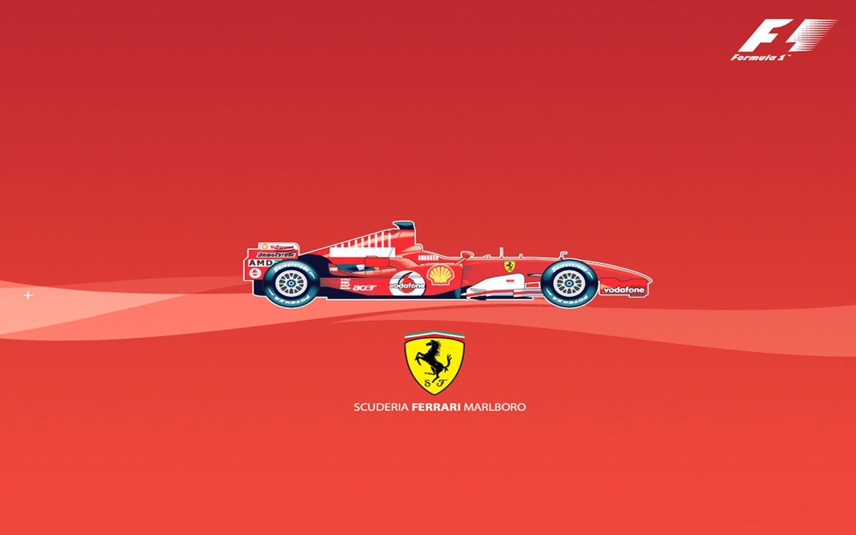 Download Formaula One Ferrari Wallpaper  Background