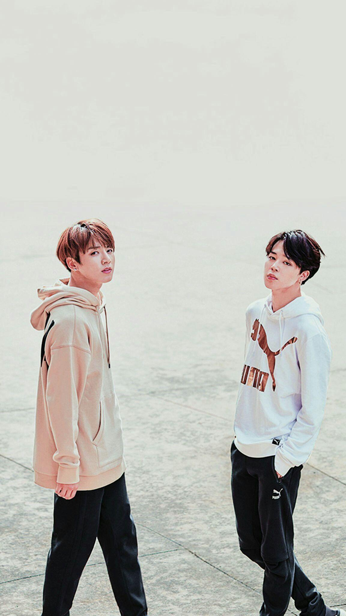 Jimin And Jungkook Wallpapers Wallpaper Cave