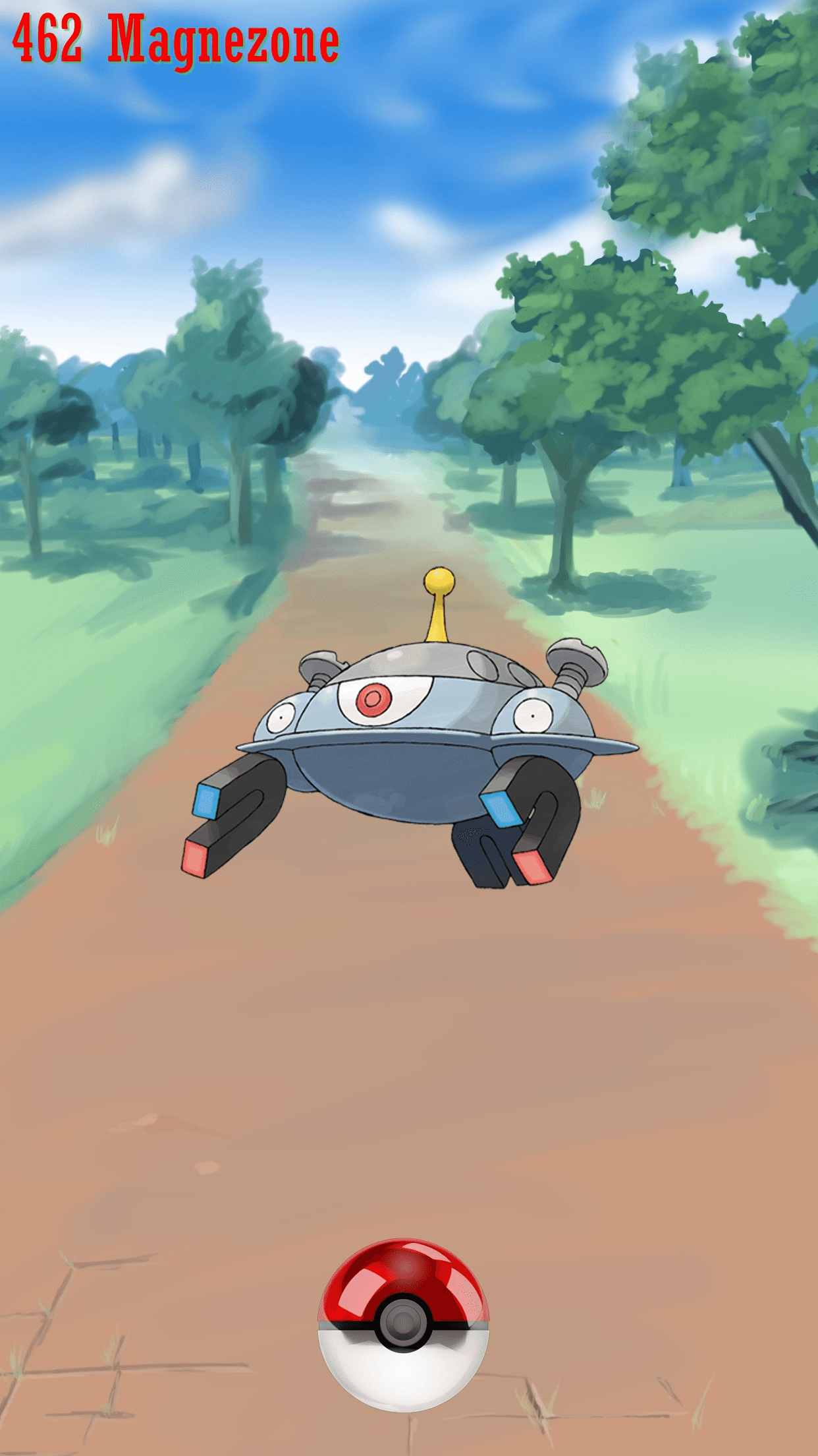 462 Street Pokeball Magnezone | Wallpaper