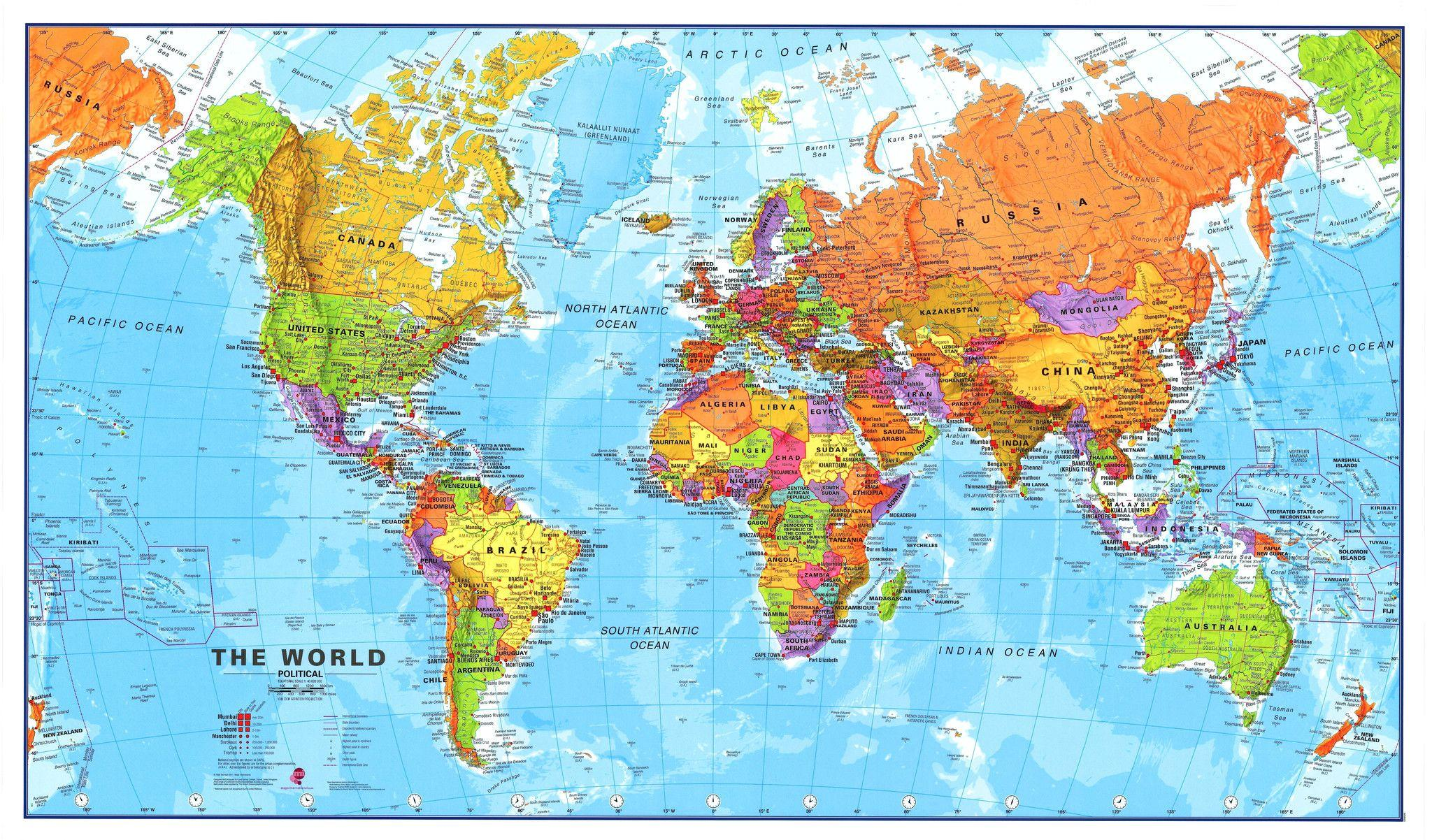 World Map 4K Wallpapers - Wallpaper Cave