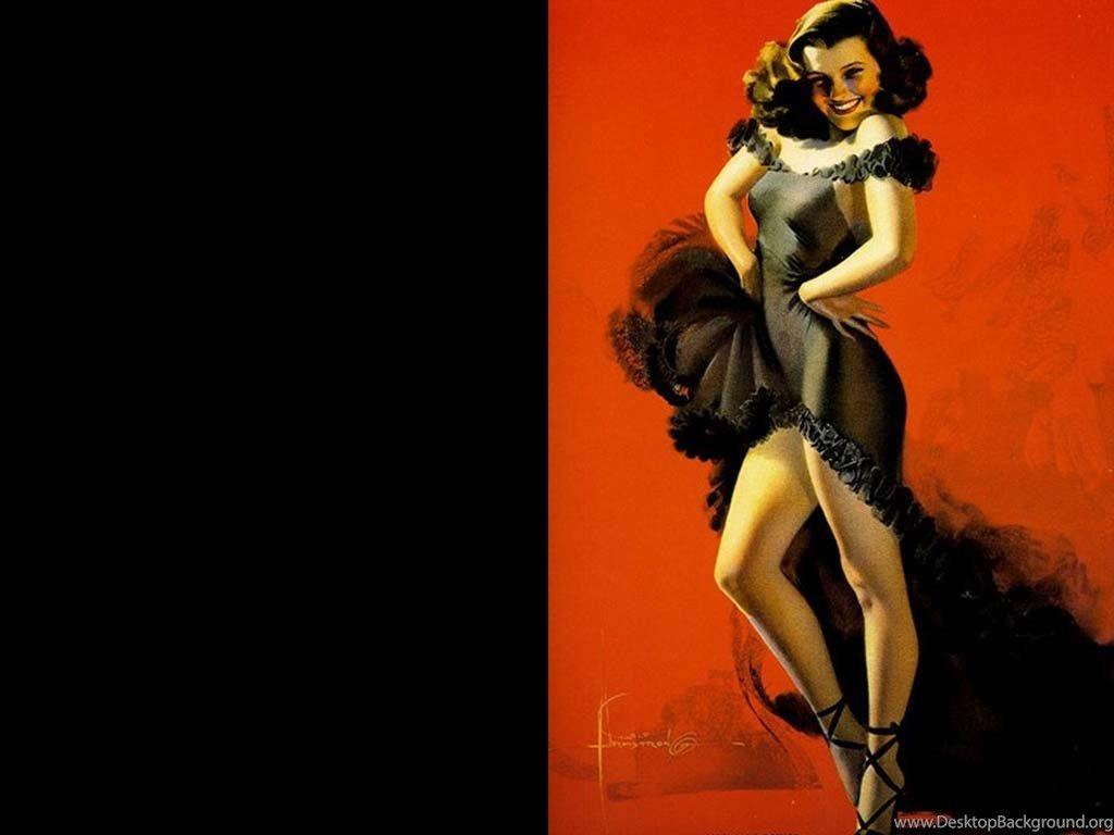 Vintage Pin Up Wallpapers Wallpaper Cave