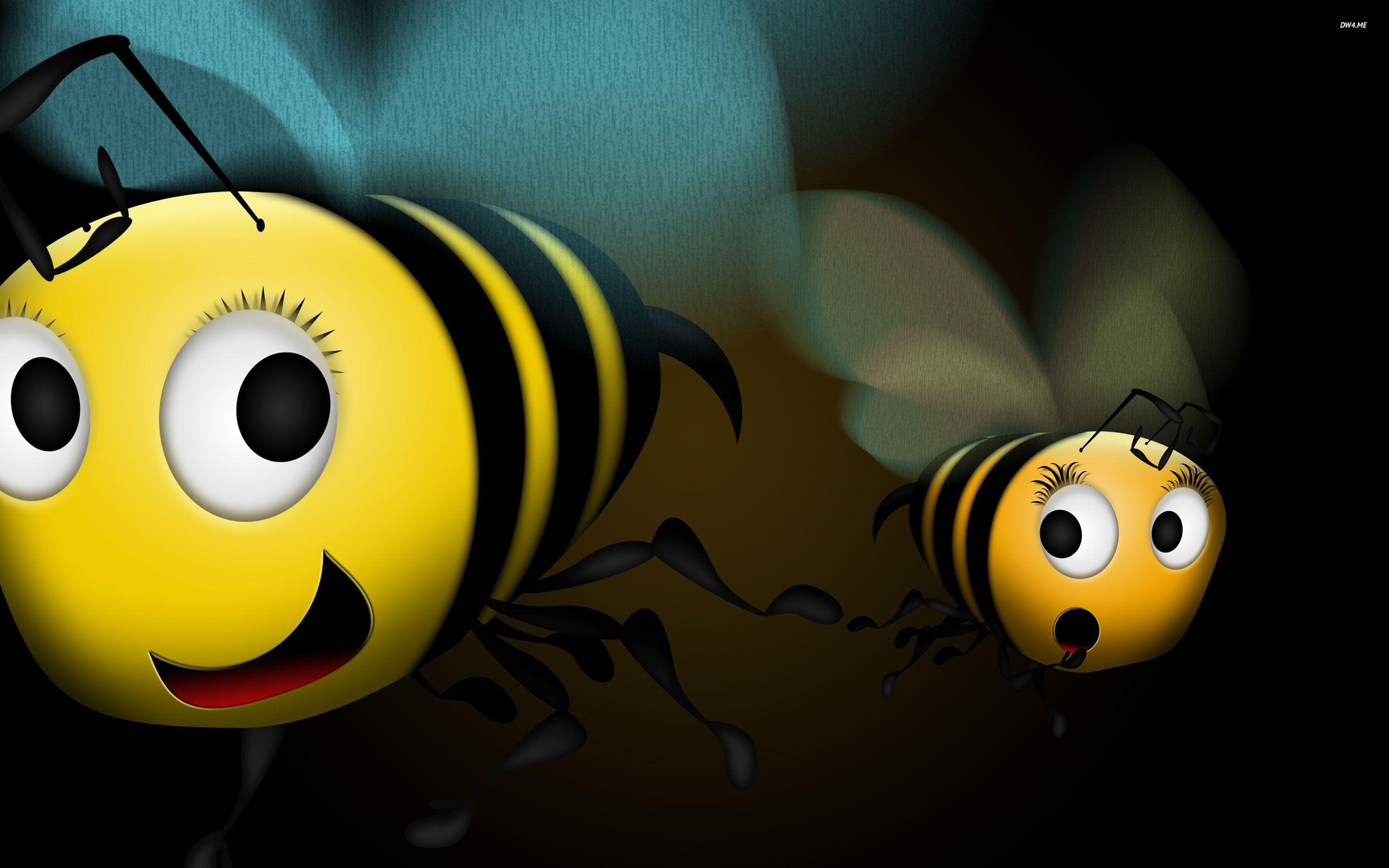 Cute Bee Wallpapers - Wallpaper Cave
