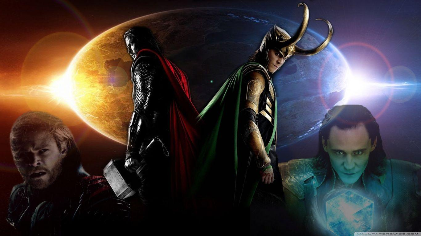 Thor And Loki Wallpapers Hd Wallpaper Cave