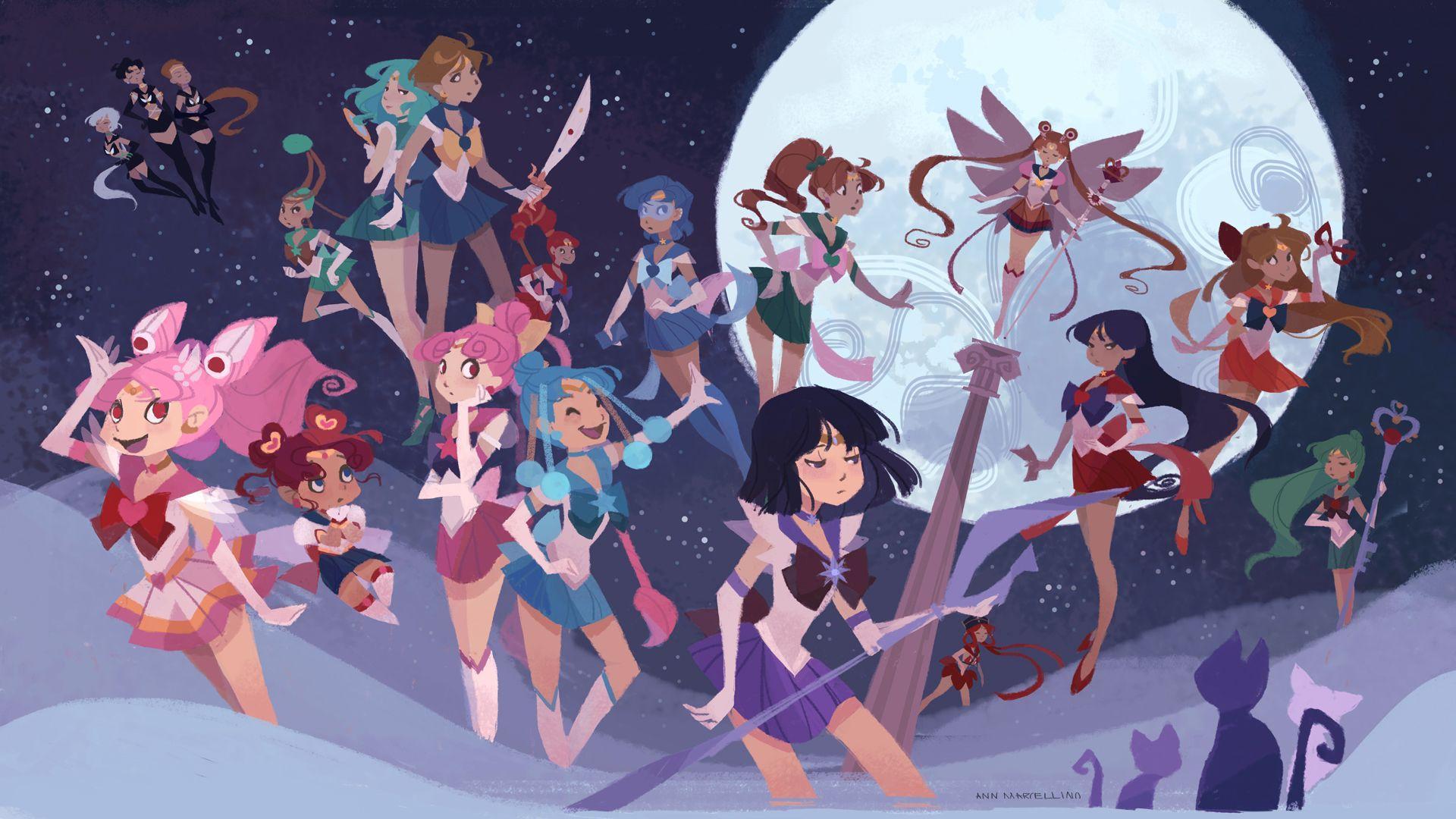 Aesthetic Sailor Moon Desktop Wallpaper Hd Anime Wallpapers
