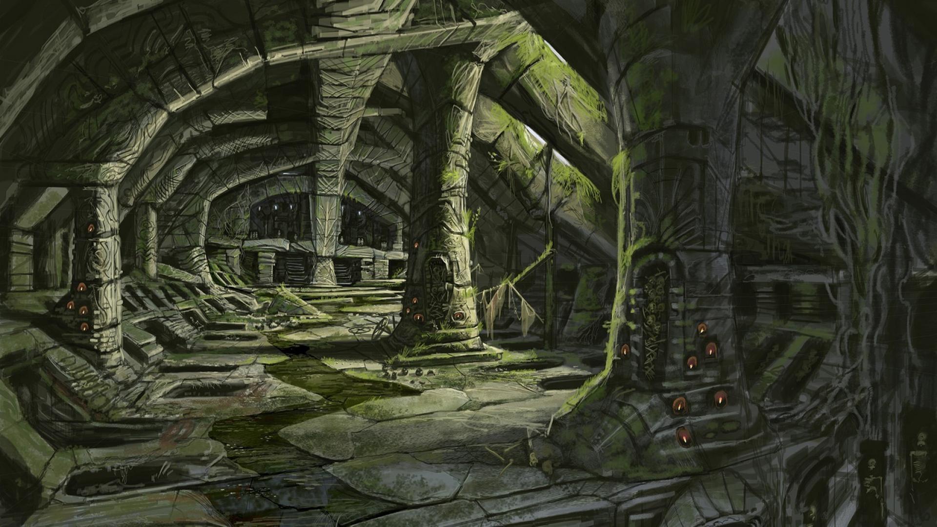Skyrim Art Wallpapers Wallpaper Cave
