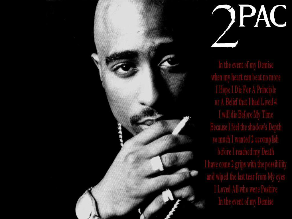 2Pac Wallpaper Quotes Tupac Pics And Wallpapers