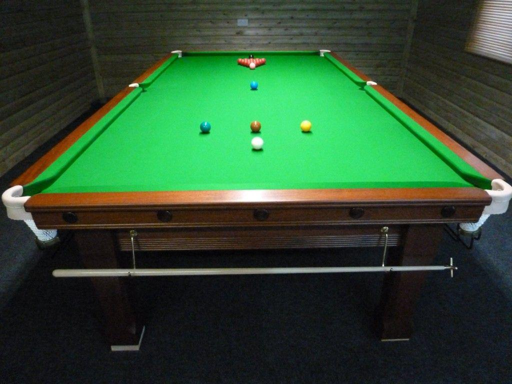 10ft Karnehm And Hillman Snooker Table From Scotland To Dagenham .