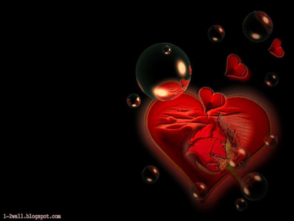 I Love You Heart Wallpapers Hd Wallpaper Cave