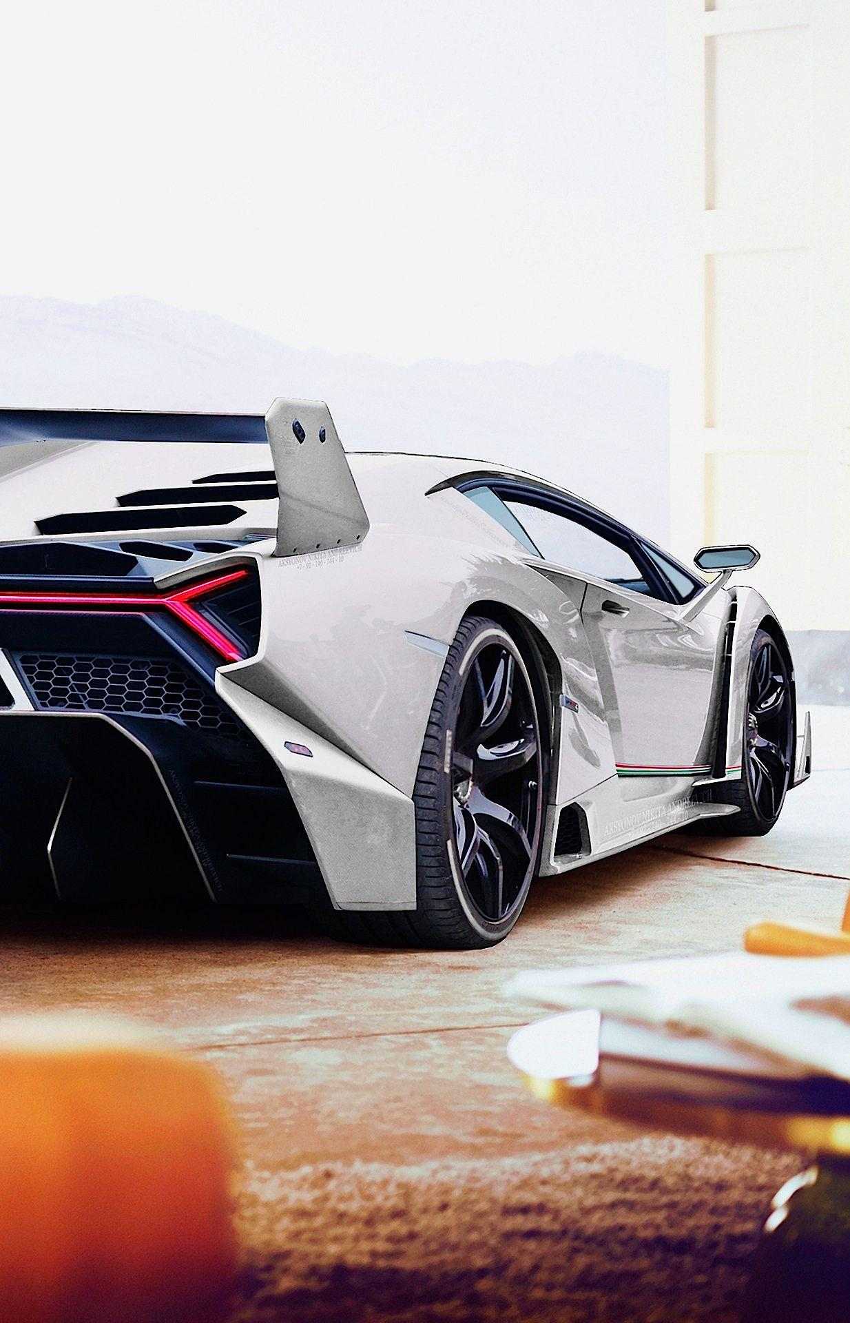 Lamborghini Veneno Hd Mobile Wallpapers Wallpaper Cave