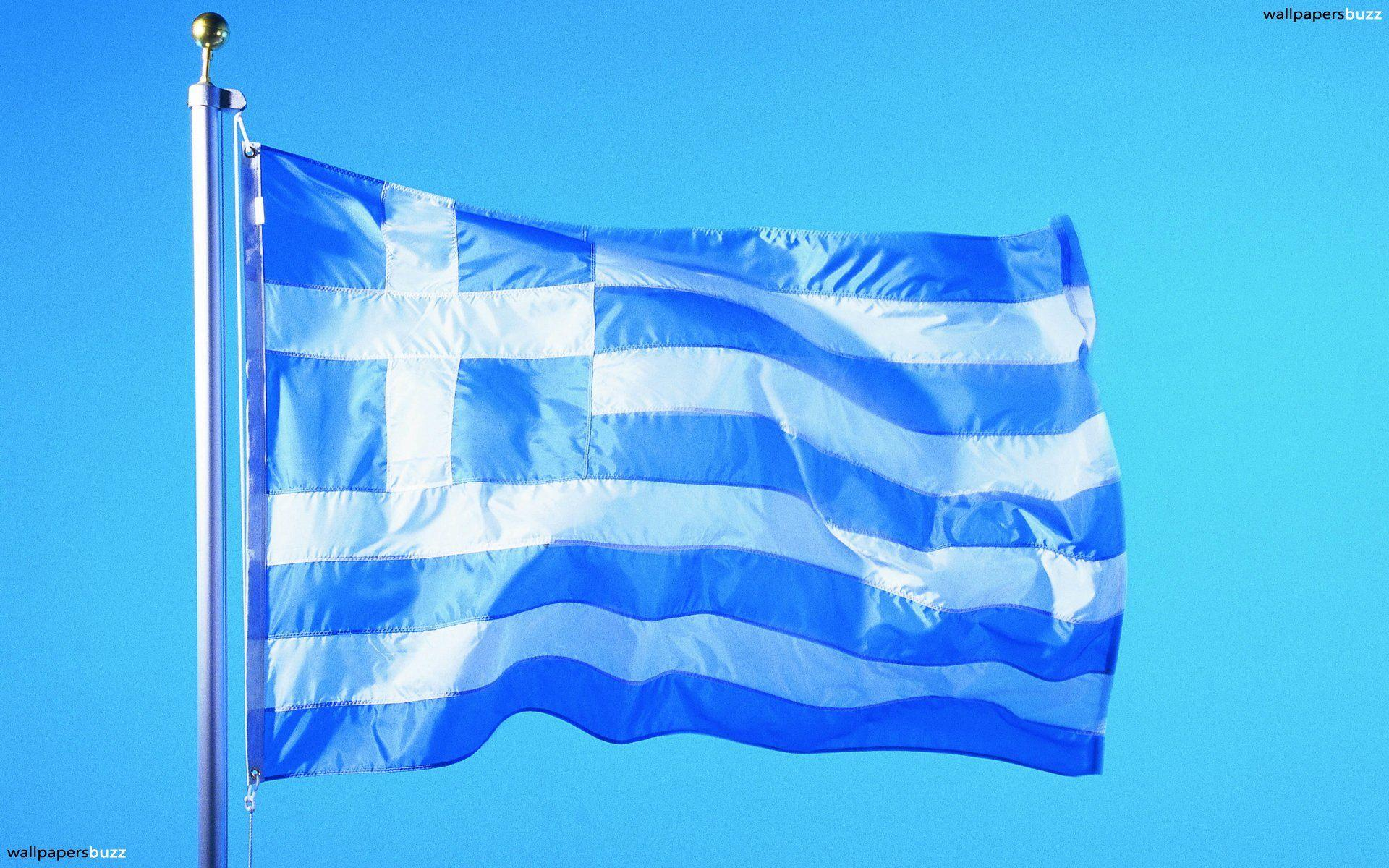 The traditional flag of Greece HD Wallpapers