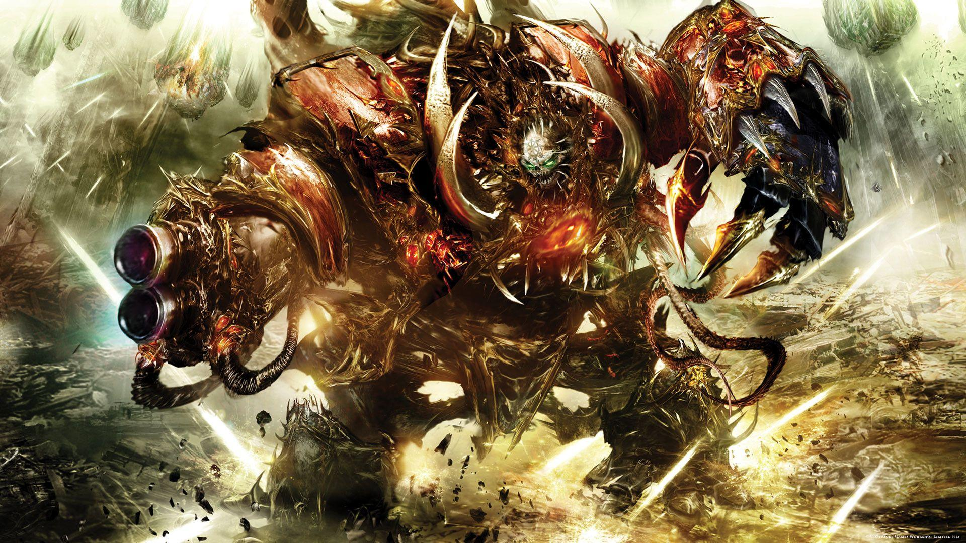 Warhammer 40k Chaos Wallpaper - WallpaperSafari
