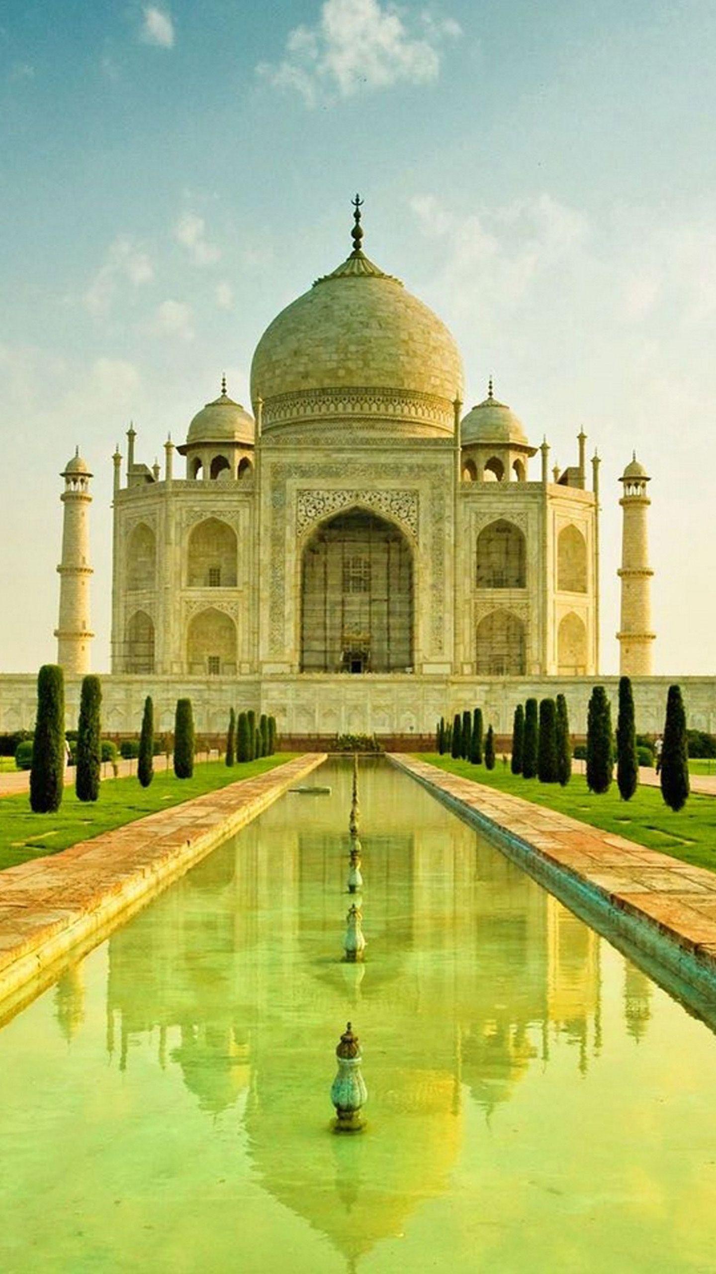 Taj Mahal Wallpapers For Mobile Wallpaper Cave