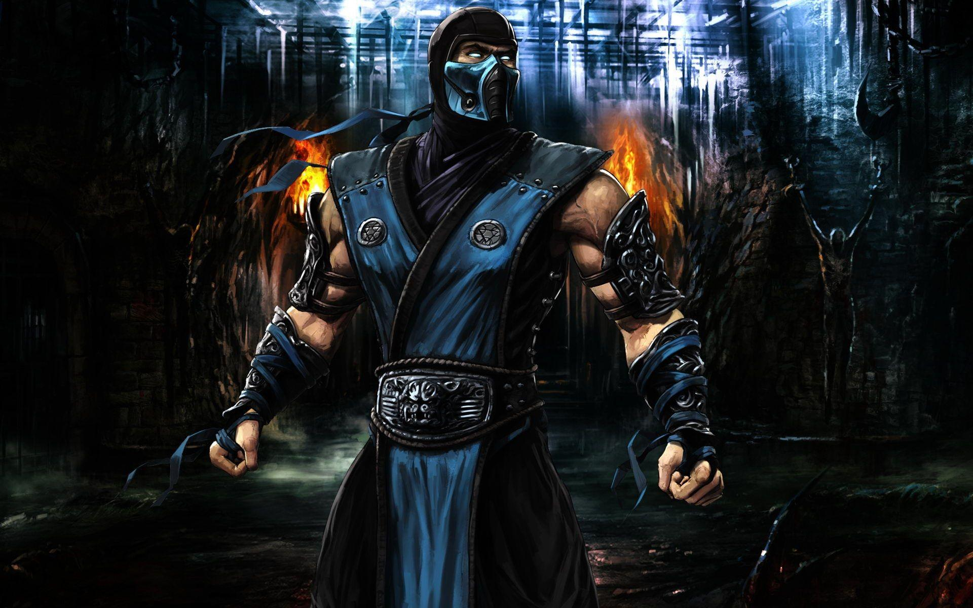 Mortal Kombat Sub Zero Wallpapers Hd Wallpaper Cave