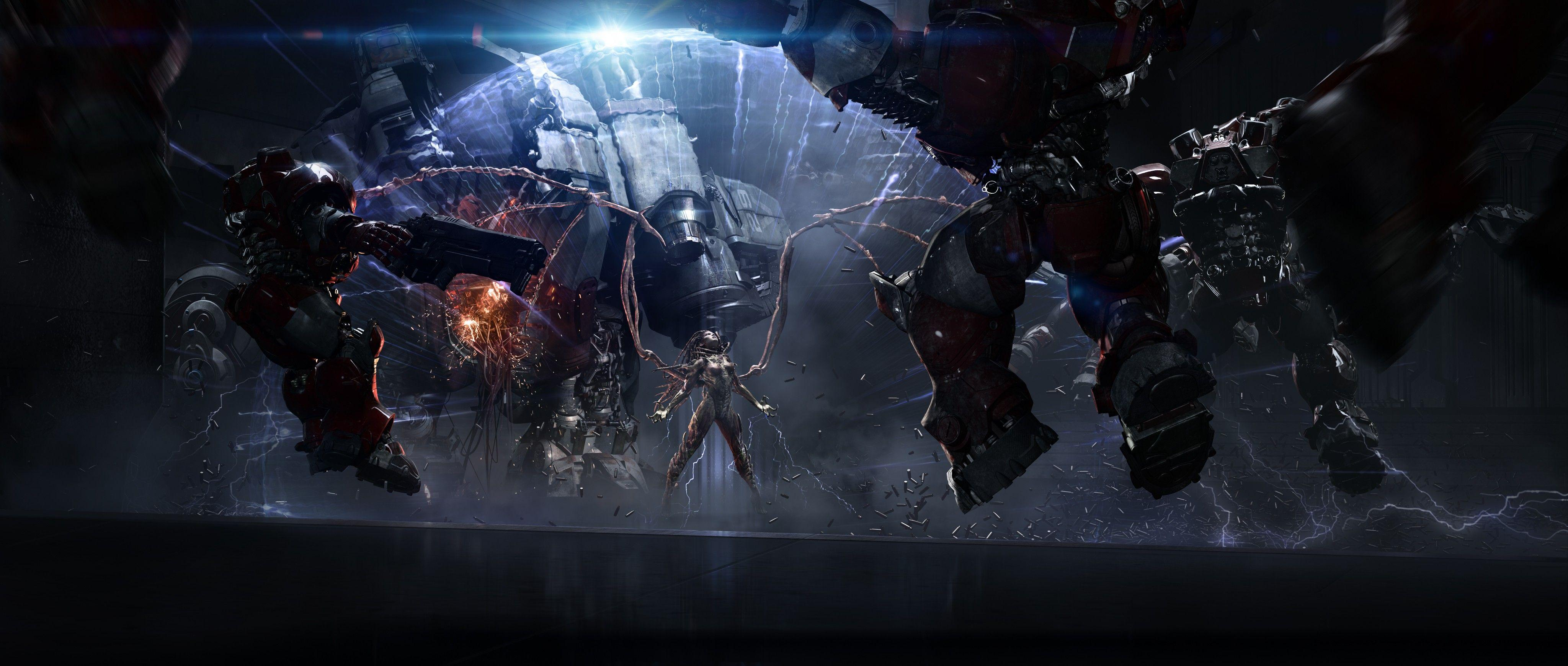 Starcraft Marine Wallpapers Wallpaper