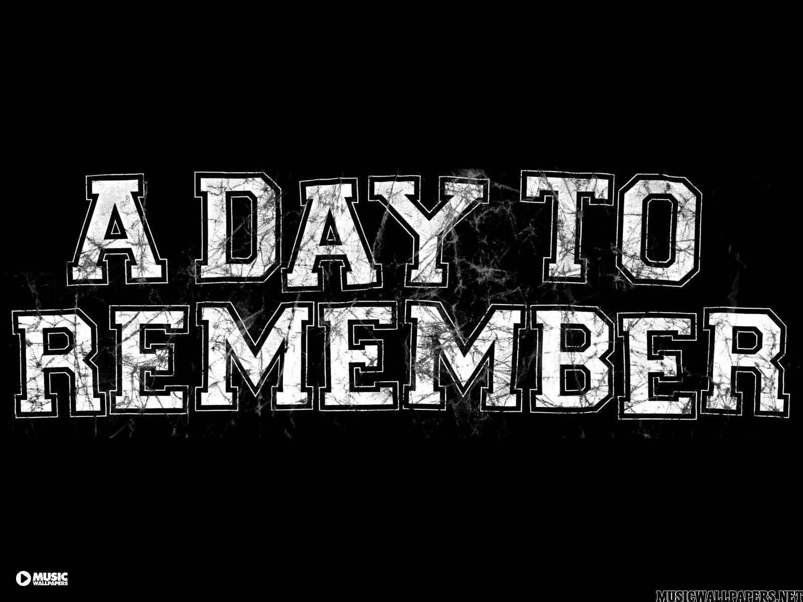 A Day To Remember Logo Wallpapers Wallpaper Cave