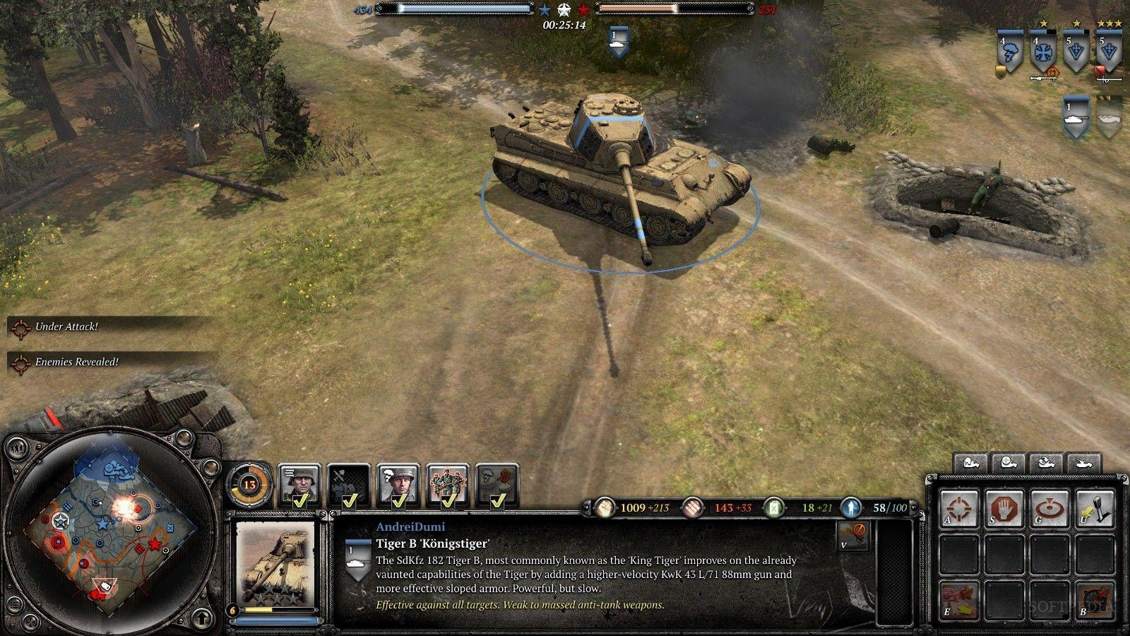 Company Of Heroes 2 Western Front Wallpapers Tanks Wallpaper Cave