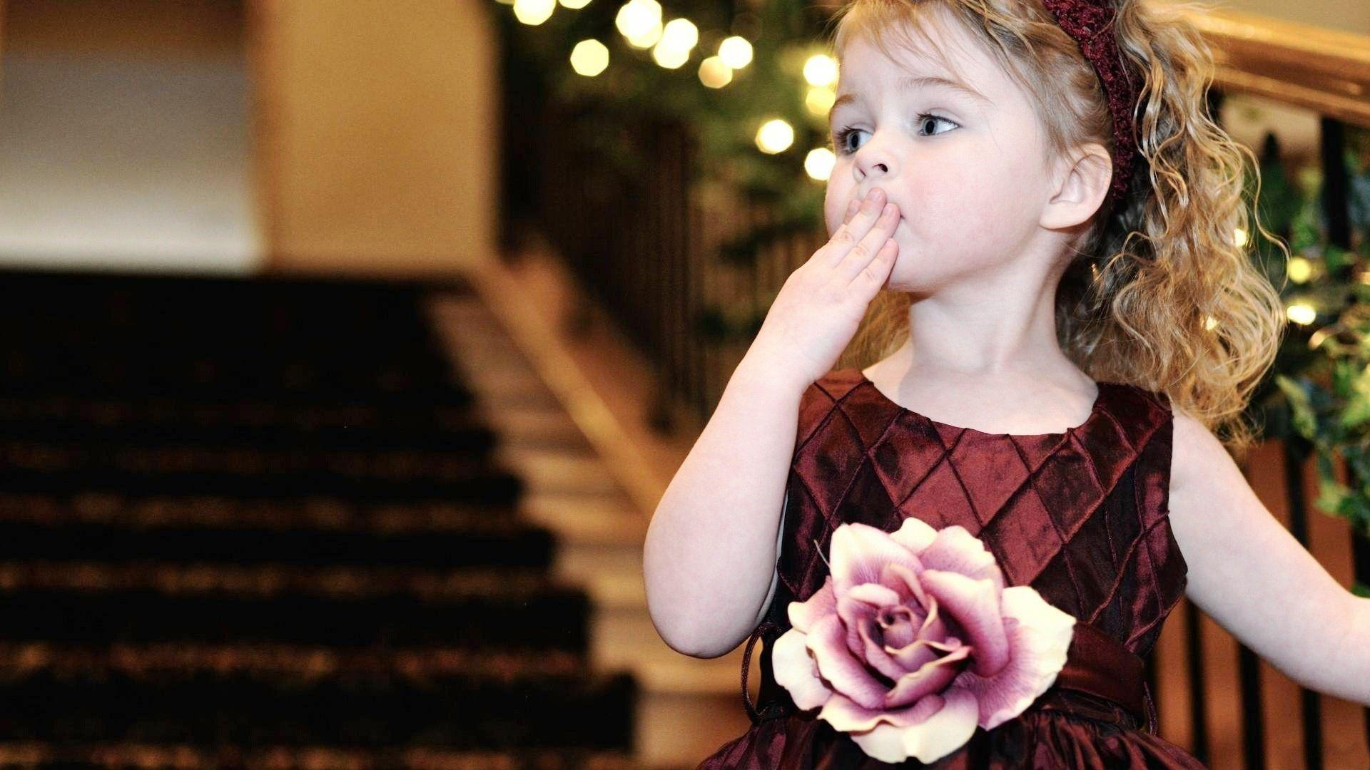 Cute baby kiss hd wallpapers wallpaper cave - Sweet baby girl wallpaper pictures ...