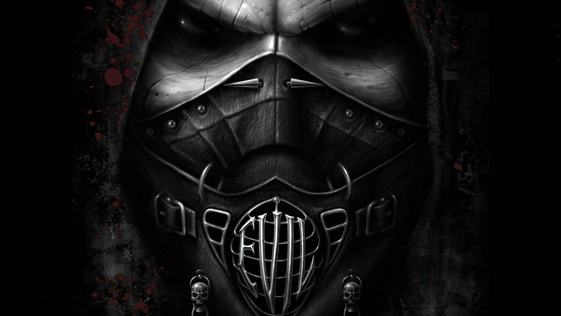 Wallpaperdark Gothicfun Stock Images Hd Mask Evil