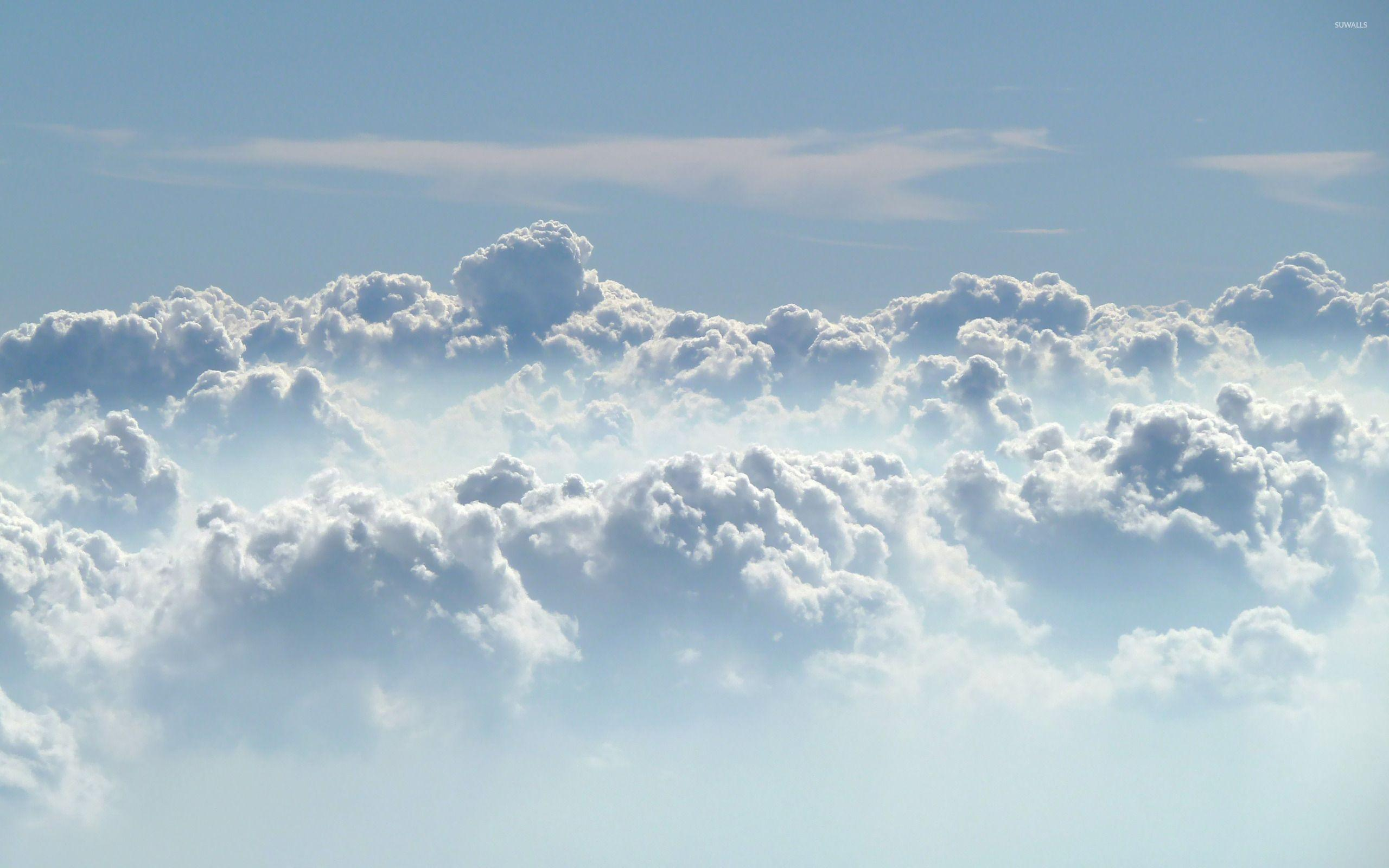Clouds in the sky wallpapers