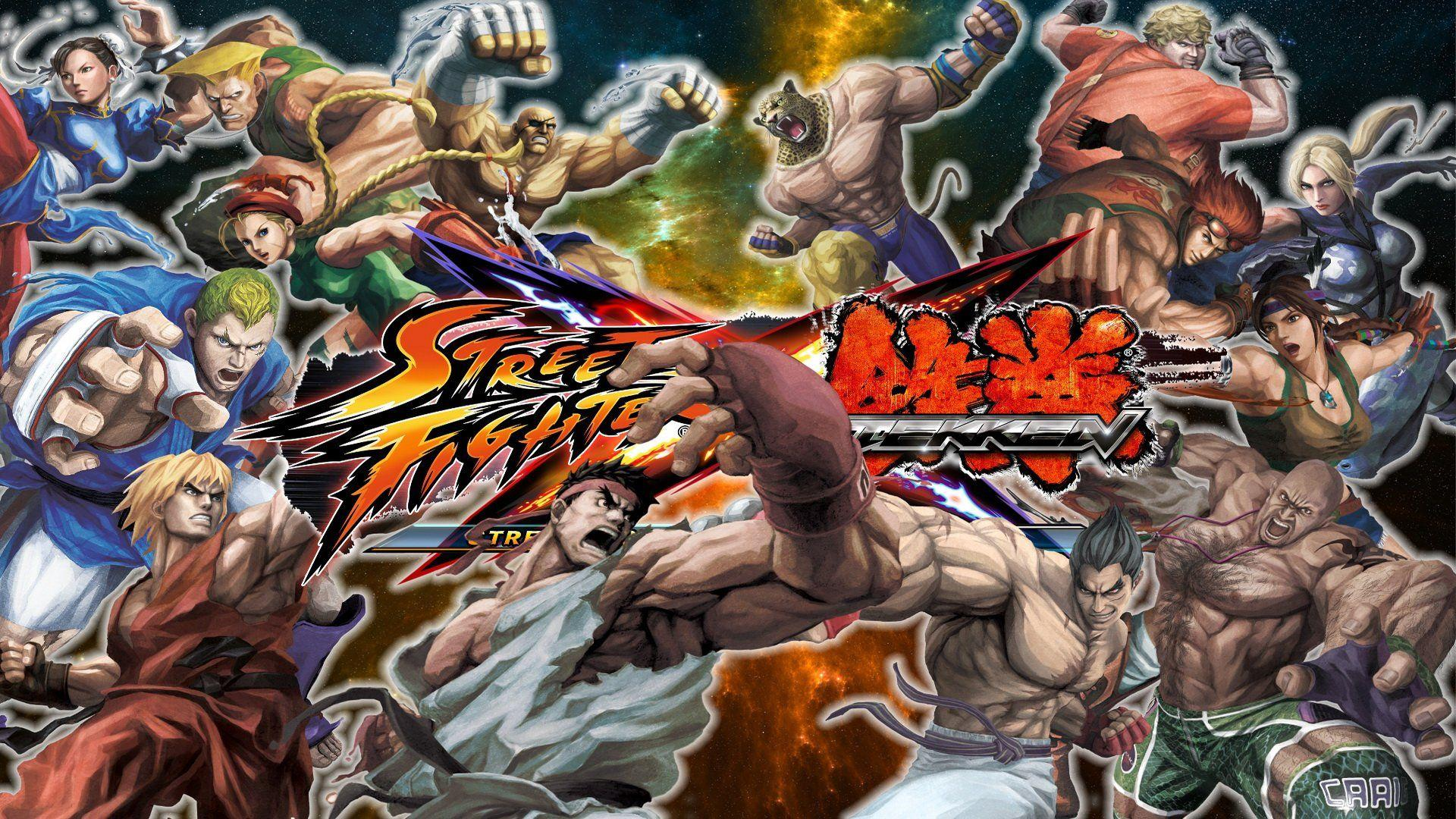 Street Fighter X Tekken Wallpapers Wallpaper Cave