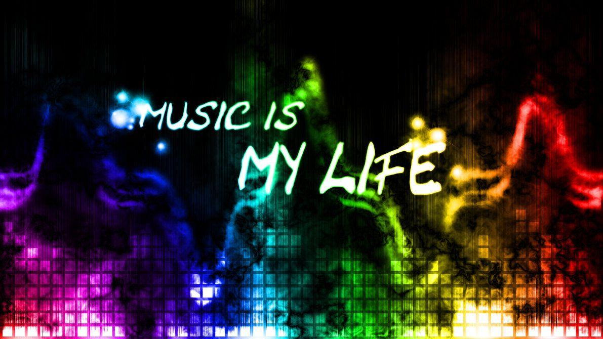 Music Is My Life Wallpaper By Hardii On DeviantArt