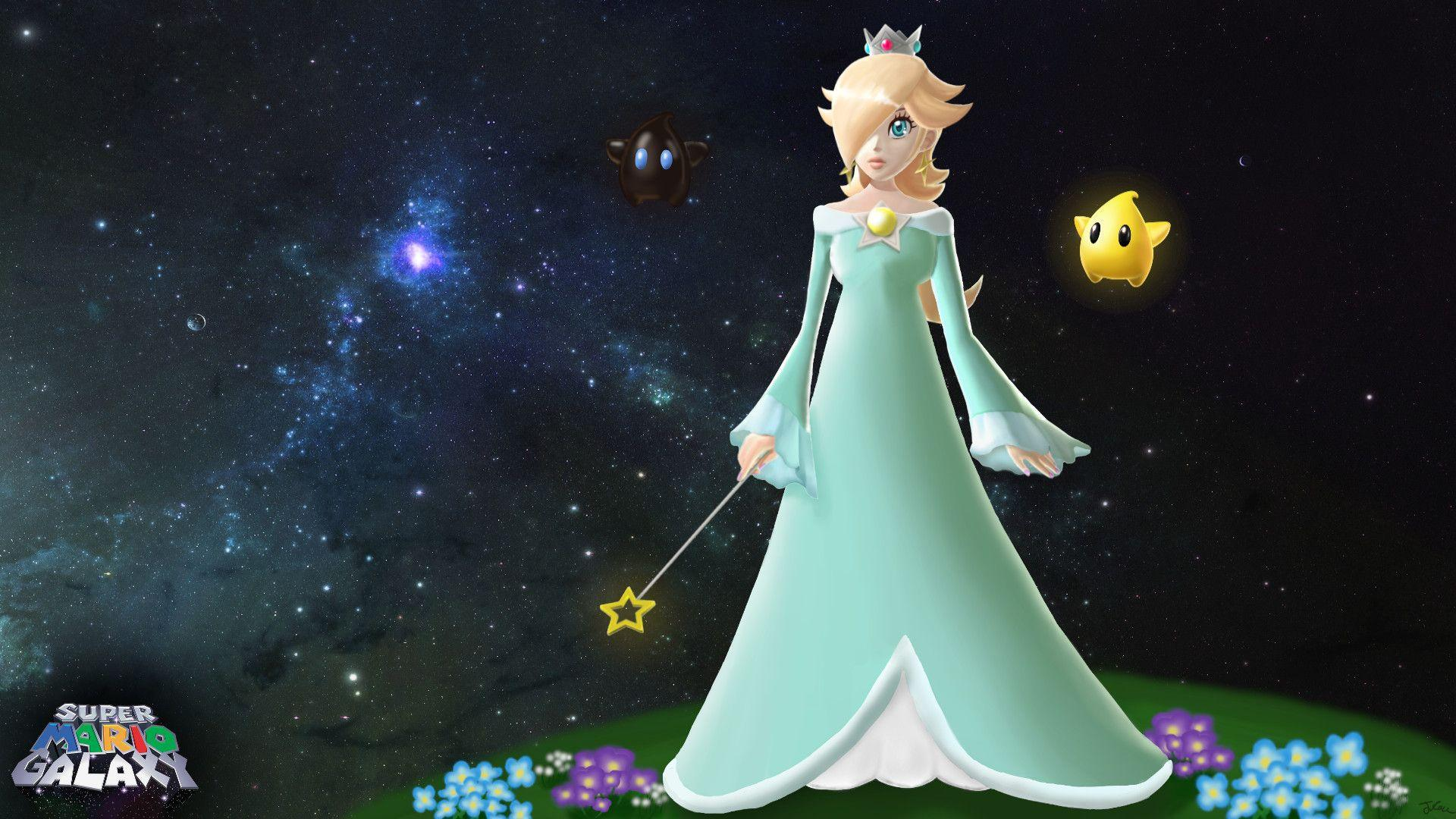 Super Mario Galaxy Rosalina Wallpapers Wallpaper Cave