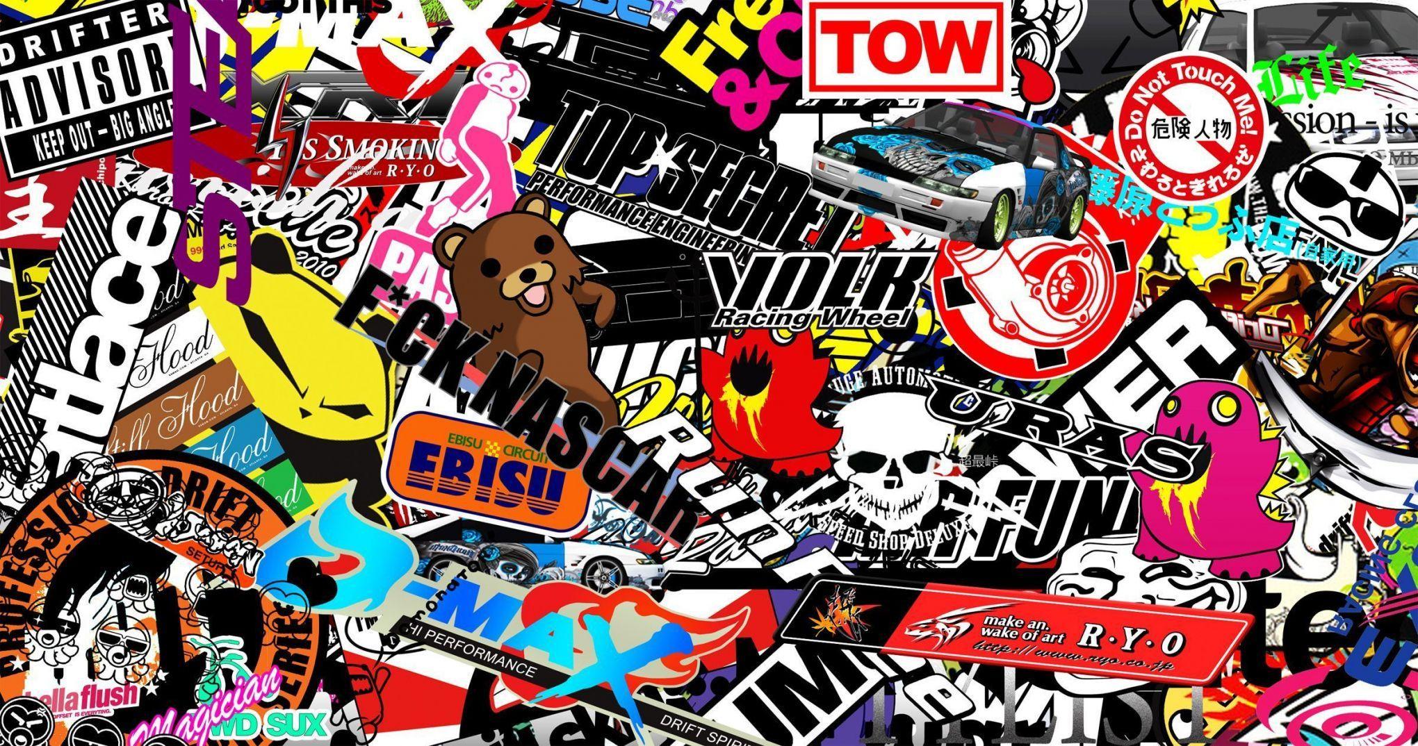 Jdm sticker wallpapers group 62 sticker wallpaper aslania com