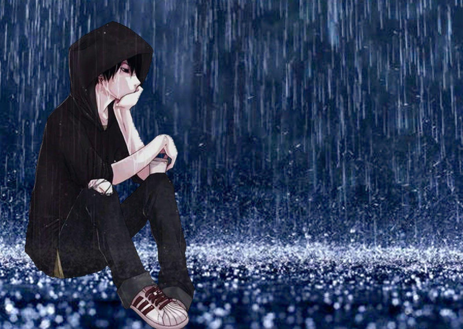 Sad Boy Alone In Rain Wallpapers - Wallpaper Cave