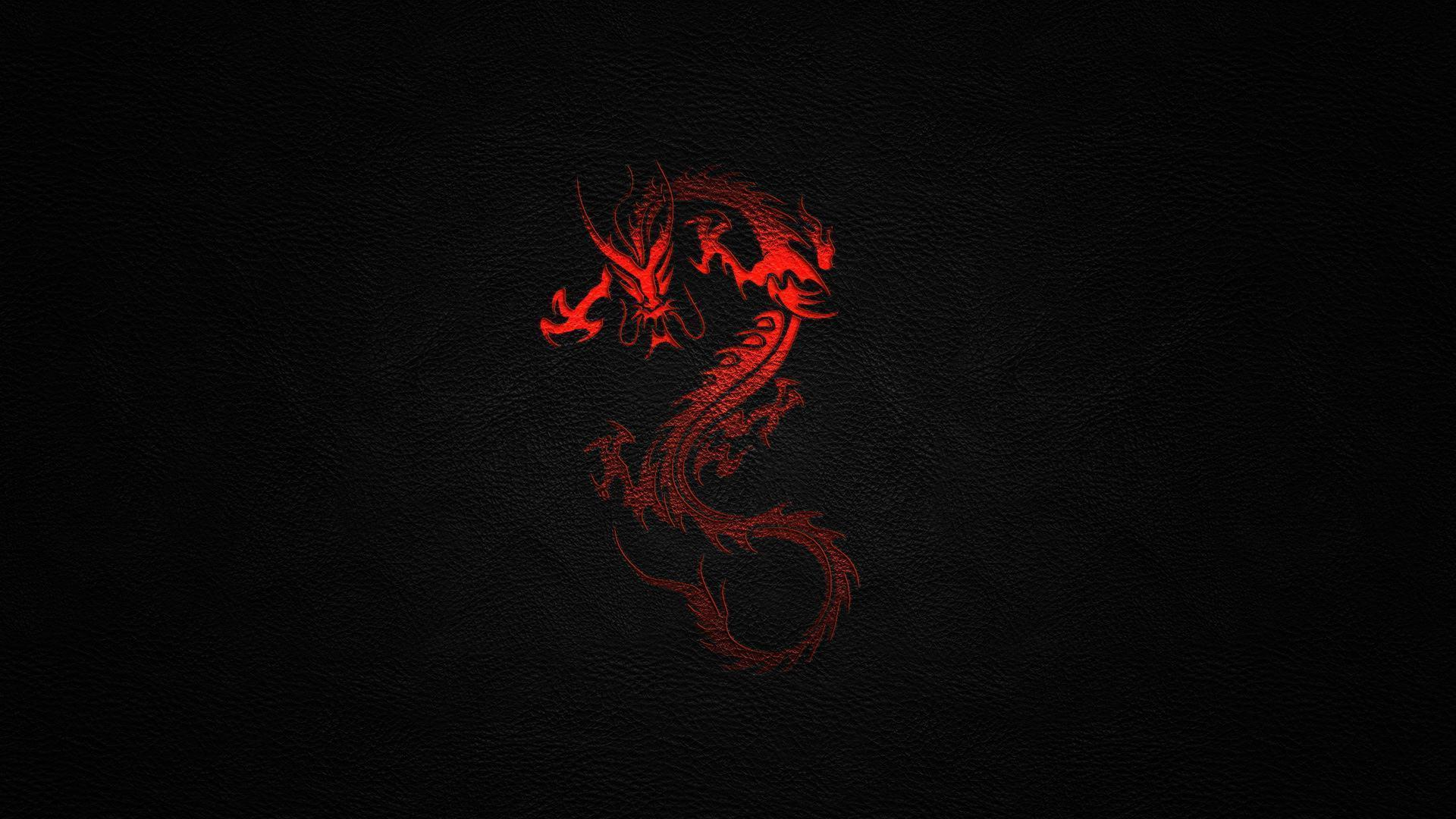 Red Black Dragon Wallpapers Wallpaper Cave