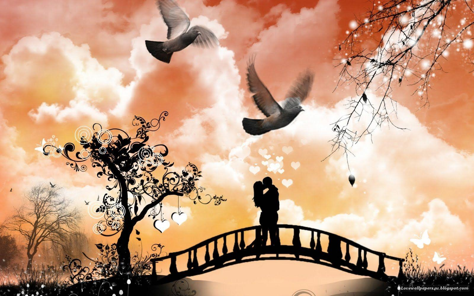 Love In Love Wallpapers Hd Wallpaper Cave
