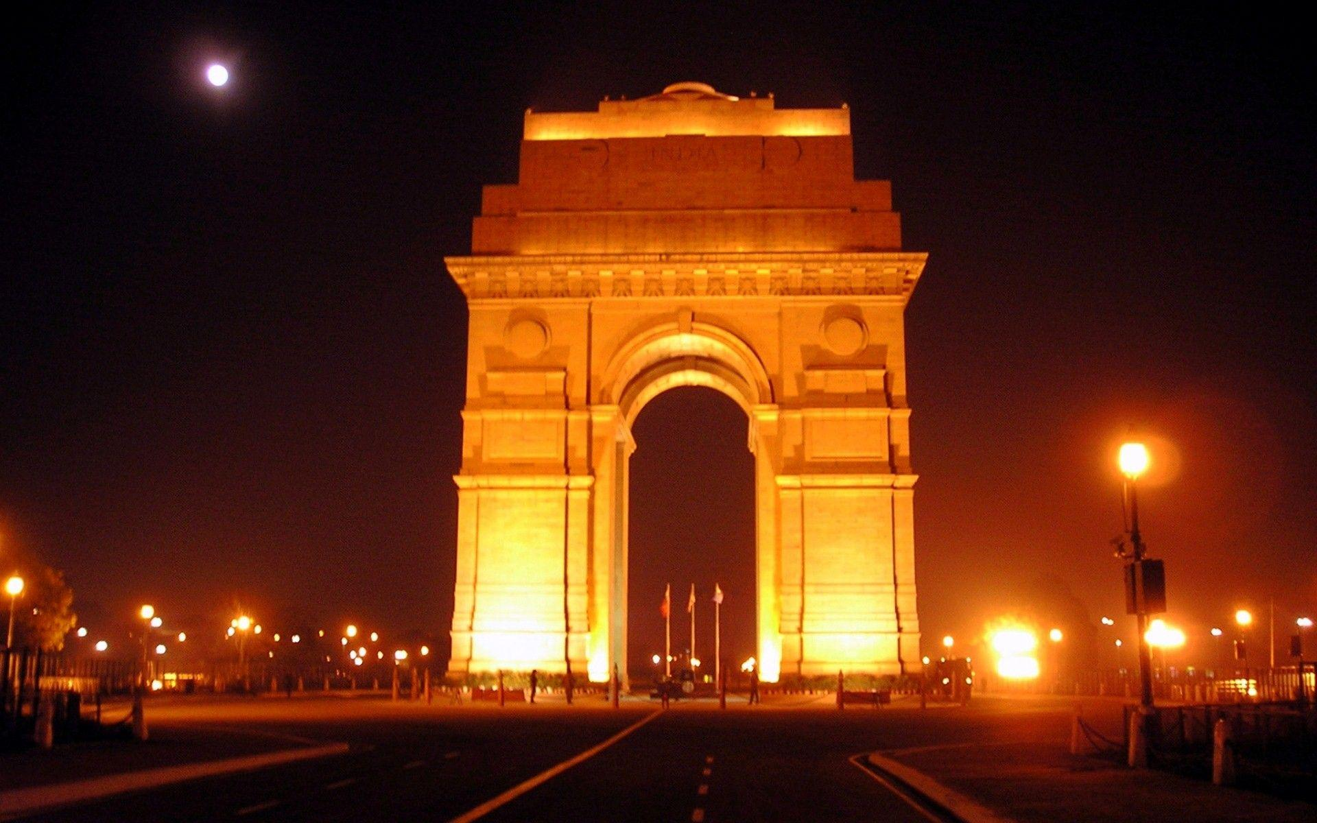 India Gate Night Hd Wallpapers Wallpaper Cave